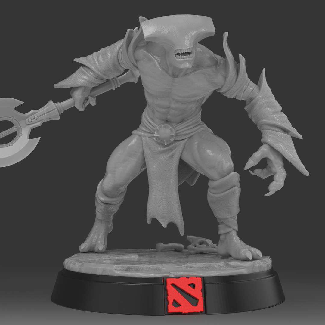 Faceless Void - Dota 2 Fanart - Hero game Dota2 - Facless Void. Very Detailed Statue, escala 1/10. Aprox 20cm height . I did a printing test in 1/25 scale and it was satisfactory. - The best files for 3D printing in the world. Stl models divided into parts to facilitate 3D printing. All kinds of characters, decoration, cosplay, prosthetics, pieces. Quality in 3D printing. Affordable 3D models. Low cost. Collective purchases of 3D files.