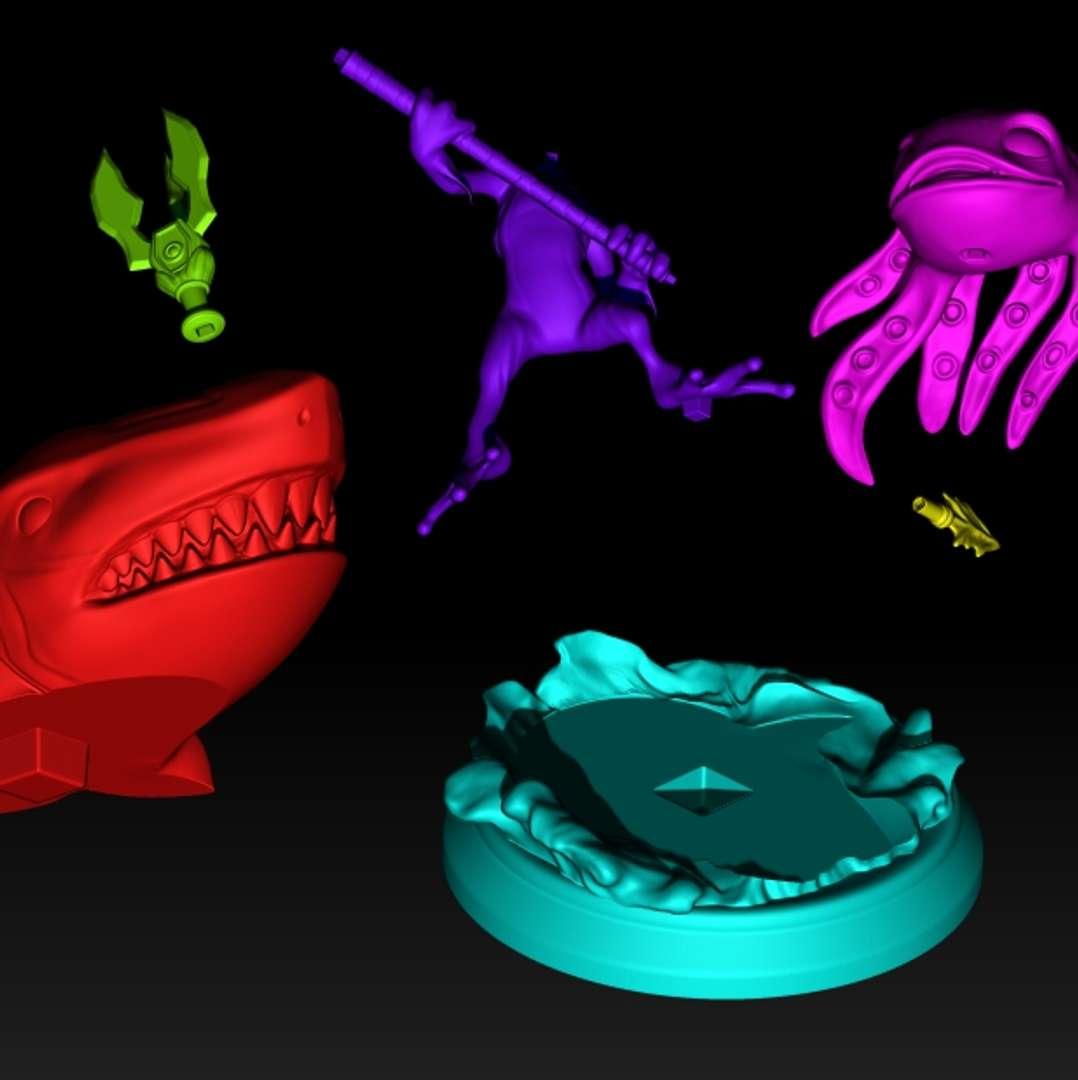 FIZZ League of Legends - FIZZ fan nart 20cm league of Legends game character - Los mejores archivos para impresión 3D del mundo. Modelos Stl divididos en partes para facilitar la impresión 3D. Todo tipo de personajes, decoración, cosplay, prótesis, piezas. Calidad en impresión 3D. Modelos 3D asequibles. Bajo costo. Compras colectivas de archivos 3D.