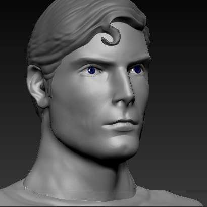 Superman - Superman model, Christopher Reeve ready for print - The best files for 3D printing in the world. Stl models divided into parts to facilitate 3D printing. All kinds of characters, decoration, cosplay, prosthetics, pieces. Quality in 3D printing. Affordable 3D models. Low cost. Collective purchases of 3D files.