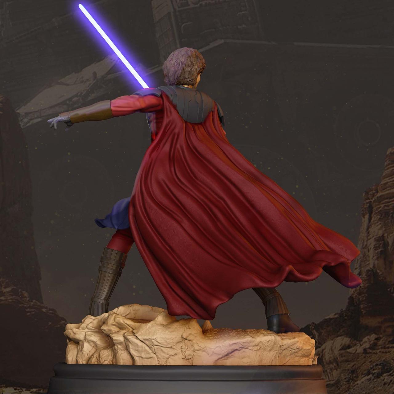 General Anakin skywalker clone wars  - finished model  - Os melhores arquivos para impressão 3D do mundo. Modelos stl divididos em partes para facilitar a impressão 3D. Todos os tipos de personagens, decoração, cosplay, próteses, peças. Qualidade na impressão 3D. Modelos 3D com preço acessível. Baixo custo. Compras coletivas de arquivos 3D.