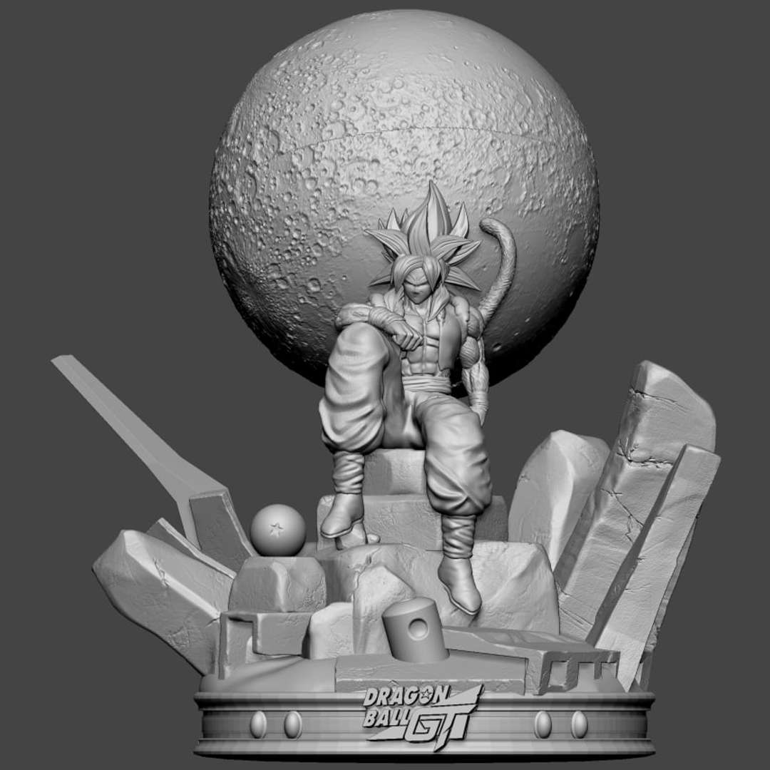 Gogeto ssj4 - Gogetta ssj4 Dragon ball GT - The best files for 3D printing in the world. Stl models divided into parts to facilitate 3D printing. All kinds of characters, decoration, cosplay, prosthetics, pieces. Quality in 3D printing. Affordable 3D models. Low cost. Collective purchases of 3D files.