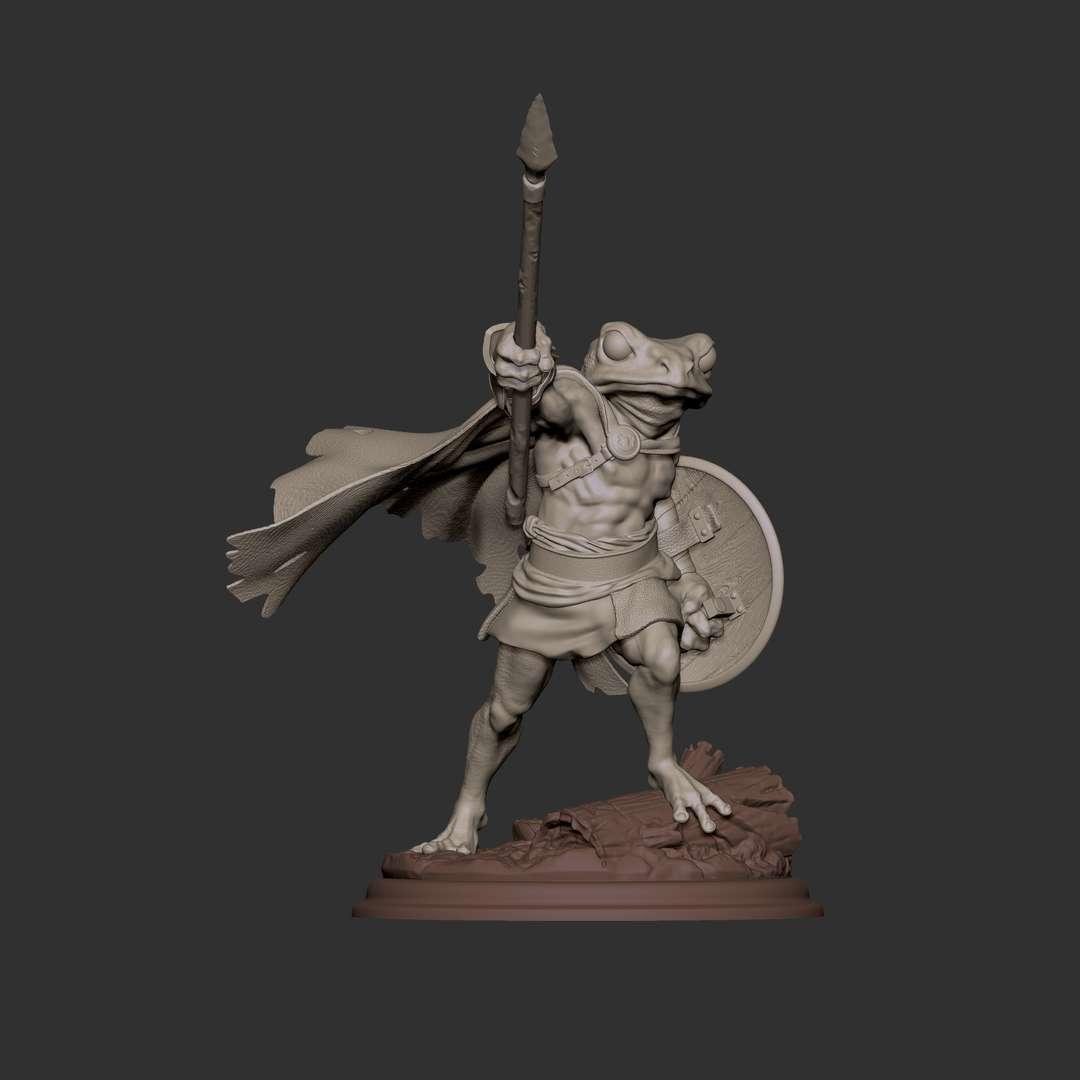 Guardian Frog - Sapo guardião fatiado em partes para facilitar a impressão e pintura. Guardian frog sliced into parts to facilitate printing and painting. - Los mejores archivos para impresión 3D del mundo. Modelos Stl divididos en partes para facilitar la impresión 3D. Todo tipo de personajes, decoración, cosplay, prótesis, piezas. Calidad en impresión 3D. Modelos 3D asequibles. Bajo costo. Compras colectivas de archivos 3D.