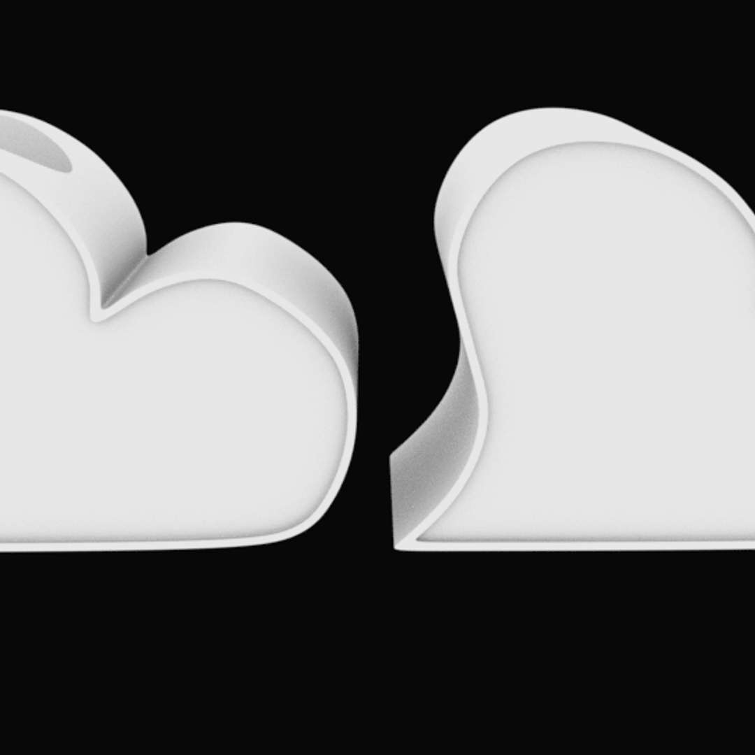Heart for ornament with hole for flower stl for 3D printing - Heart for ornament with hole for flower  2 models for printing - The best files for 3D printing in the world. Stl models divided into parts to facilitate 3D printing. All kinds of characters, decoration, cosplay, prosthetics, pieces. Quality in 3D printing. Affordable 3D models. Low cost. Collective purchases of 3D files.