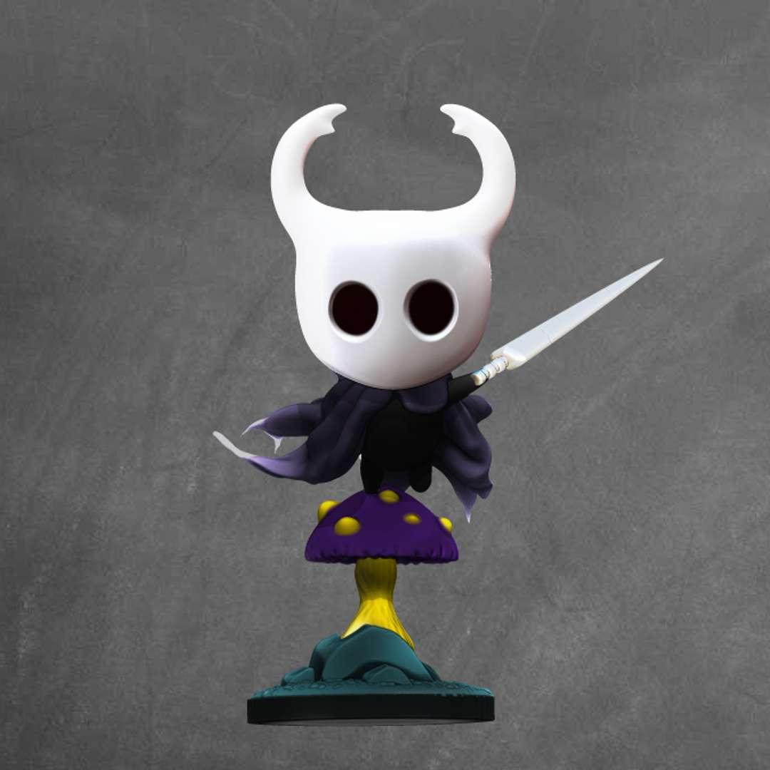 Hollow Knight - model of the character of game hollow knight cut model  - Os melhores arquivos para impressão 3D do mundo. Modelos stl divididos em partes para facilitar a impressão 3D. Todos os tipos de personagens, decoração, cosplay, próteses, peças. Qualidade na impressão 3D. Modelos 3D com preço acessível. Baixo custo. Compras coletivas de arquivos 3D.