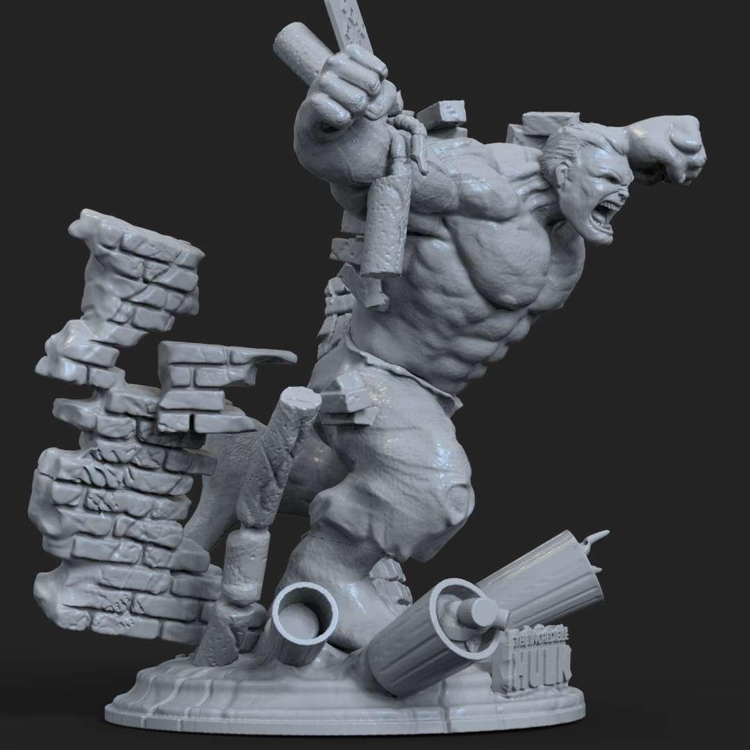 Hulk Wall - Another Hulk breaking the wall!  - Los mejores archivos para impresión 3D del mundo. Modelos Stl divididos en partes para facilitar la impresión 3D. Todo tipo de personajes, decoración, cosplay, prótesis, piezas. Calidad en impresión 3D. Modelos 3D asequibles. Bajo costo. Compras colectivas de archivos 3D.