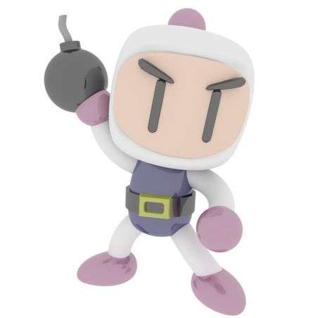 Super Bomberman Classic - Super Bomberman Classic from nintendo games. The white, but you can paint the way you want. - Los mejores archivos para impresión 3D del mundo. Modelos Stl divididos en partes para facilitar la impresión 3D. Todo tipo de personajes, decoración, cosplay, prótesis, piezas. Calidad en impresión 3D. Modelos 3D asequibles. Bajo costo. Compras colectivas de archivos 3D.