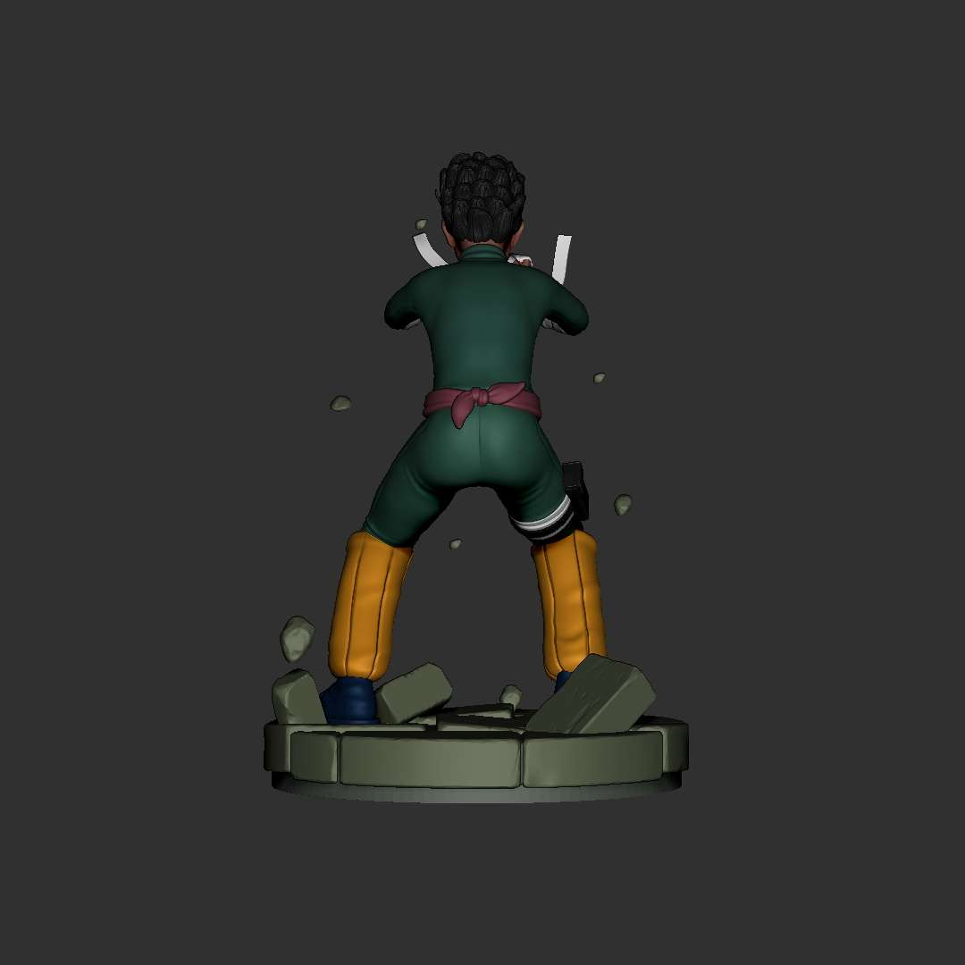 Rock Lee Fan Art - Rock Lee fan Art  File ready for printing 07 STL files ready for printing Model cut and prepared with plug-in pins for printing  - The best files for 3D printing in the world. Stl models divided into parts to facilitate 3D printing. All kinds of characters, decoration, cosplay, prosthetics, pieces. Quality in 3D printing. Affordable 3D models. Low cost. Collective purchases of 3D files.