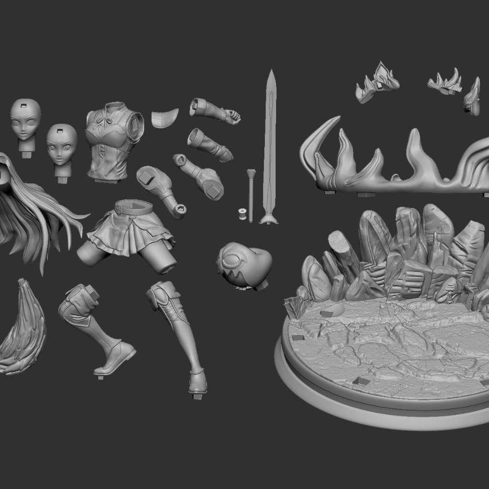 Rafhitalia - Rafhitalia Model 3D (Anime Tate no Yusha Inagaki - Os melhores arquivos para impressão 3D do mundo. Modelos stl divididos em partes para facilitar a impressão 3D. Todos os tipos de personagens, decoração, cosplay, próteses, peças. Qualidade na impressão 3D. Modelos 3D com preço acessível. Baixo custo. Compras coletivas de arquivos 3D.