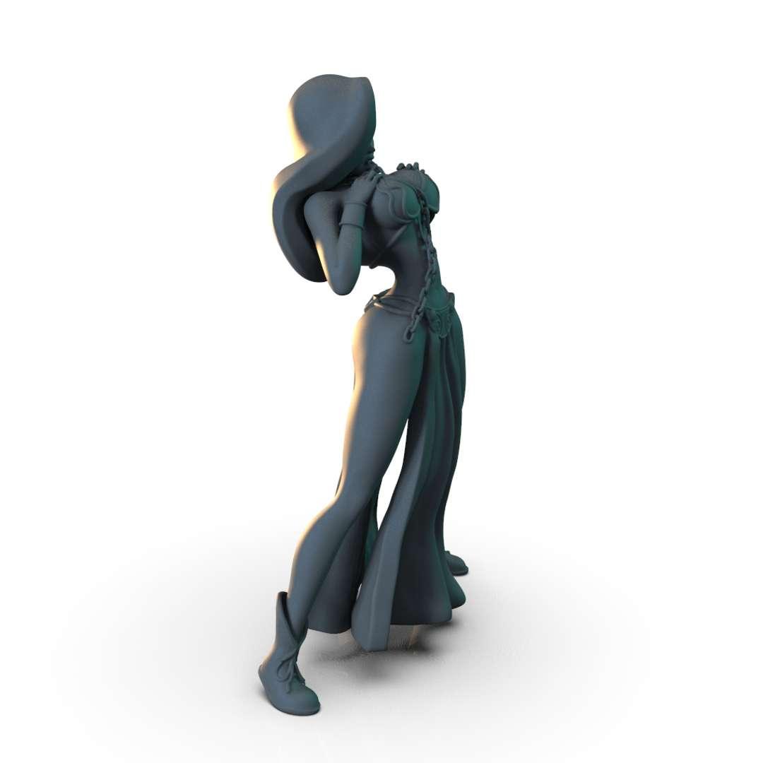 Jessica Rabbit - Model Jessica Rabbit  - Los mejores archivos para impresión 3D del mundo. Modelos Stl divididos en partes para facilitar la impresión 3D. Todo tipo de personajes, decoración, cosplay, prótesis, piezas. Calidad en impresión 3D. Modelos 3D asequibles. Bajo costo. Compras colectivas de archivos 3D.