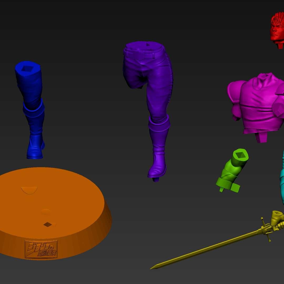 Jonathan Joestar - A personal project of Jonathan Joestar from Jojo Bizarre Adventure - Phantom Blood. Sculpted in Zbrush, rendered in Keyshot and ready for 3D printing. - Os melhores arquivos para impressão 3D do mundo. Modelos stl divididos em partes para facilitar a impressão 3D. Todos os tipos de personagens, decoração, cosplay, próteses, peças. Qualidade na impressão 3D. Modelos 3D com preço acessível. Baixo custo. Compras coletivas de arquivos 3D.
