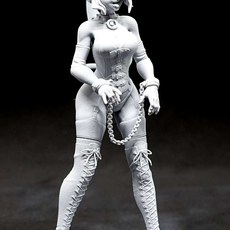 Helltaker Zdrada - Helltaker Zdrada stl - The best files for 3D printing in the world. Stl models divided into parts to facilitate 3D printing. All kinds of characters, decoration, cosplay, prosthetics, pieces. Quality in 3D printing. Affordable 3D models. Low cost. Collective purchases of 3D files.