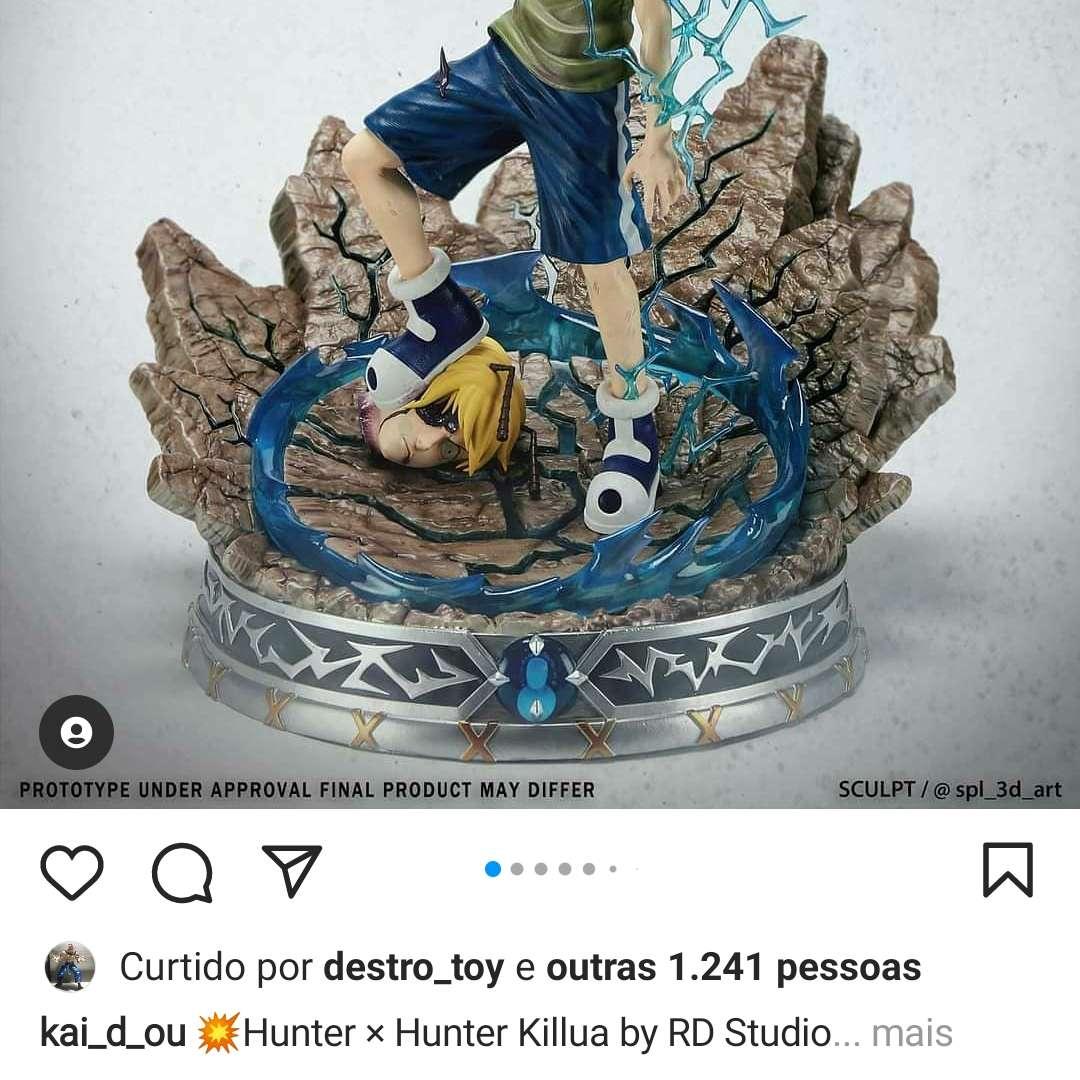 Killua - Killua Hunter x Hunter - Los mejores archivos para impresión 3D del mundo. Modelos Stl divididos en partes para facilitar la impresión 3D. Todo tipo de personajes, decoración, cosplay, prótesis, piezas. Calidad en impresión 3D. Modelos 3D asequibles. Bajo costo. Compras colectivas de archivos 3D.