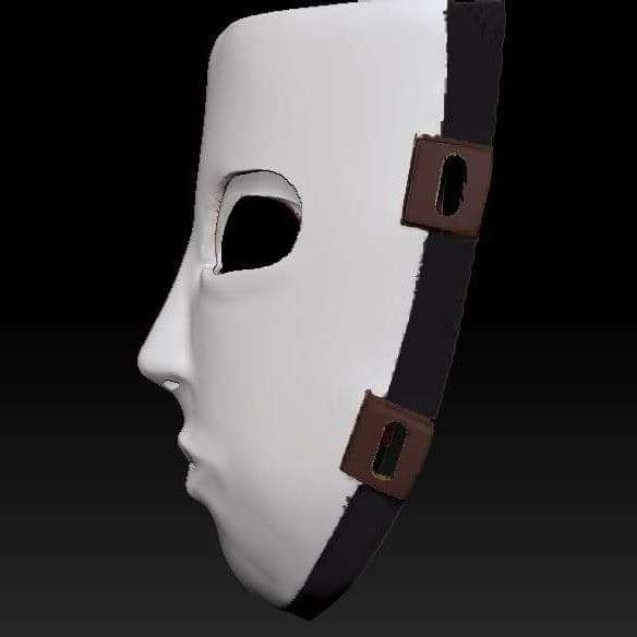 Cosplay Mask Game Sally Face - Máscara Cosplay  Game Sally Face Arquivo para cosplay   Cosplay Mask Game Sally Face Cosplay archive - The best files for 3D printing in the world. Stl models divided into parts to facilitate 3D printing. All kinds of characters, decoration, cosplay, prosthetics, pieces. Quality in 3D printing. Affordable 3D models. Low cost. Collective purchases of 3D files.