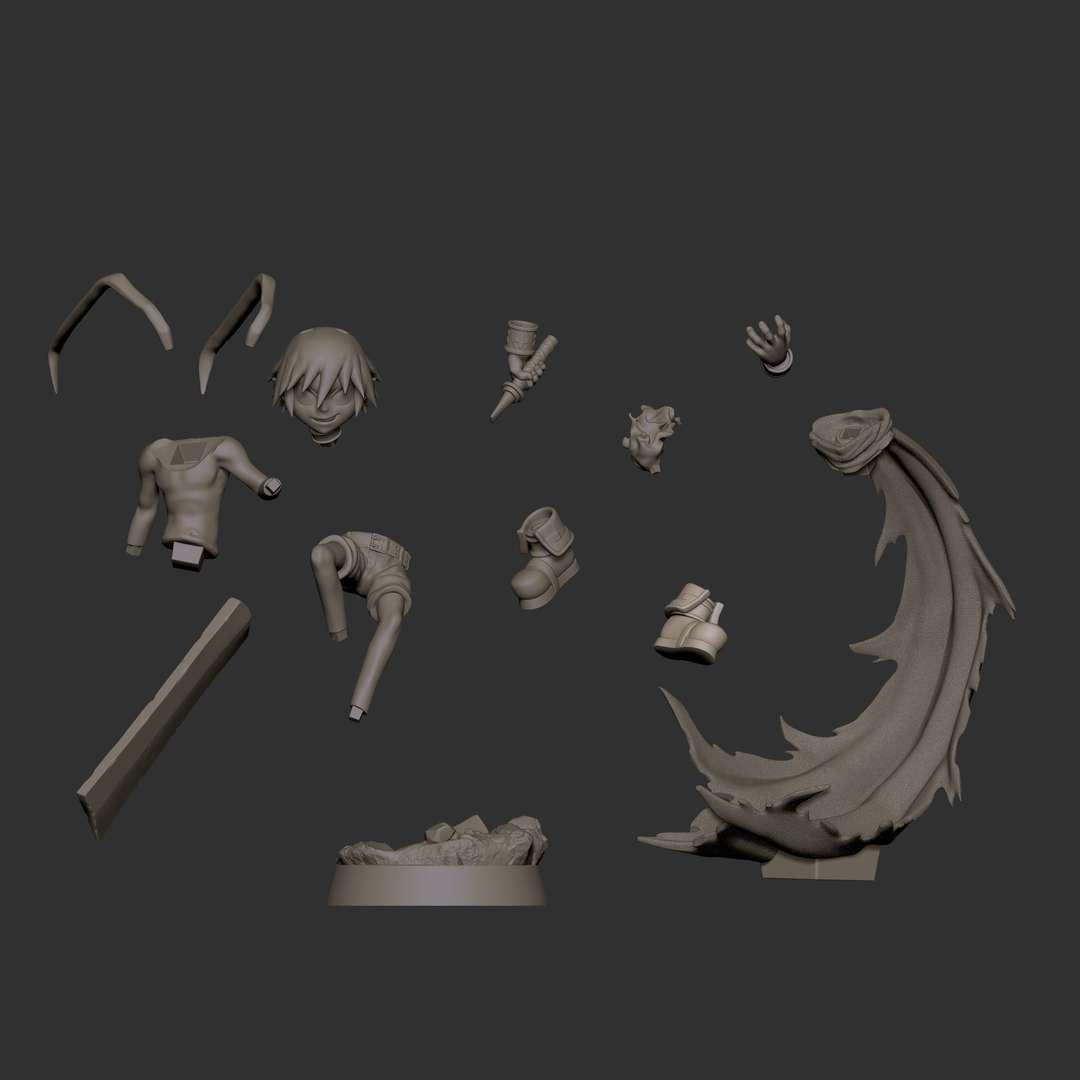 Laharl Disgaea - Fan art de Laharl Disgaea: Hour of Darkness. Uma série de jogos eletrônicos RPG tático criada e projetada pela Nippon Ichi - Os melhores arquivos para impressão 3D do mundo. Modelos stl divididos em partes para facilitar a impressão 3D. Todos os tipos de personagens, decoração, cosplay, próteses, peças. Qualidade na impressão 3D. Modelos 3D com preço acessível. Baixo custo. Compras coletivas de arquivos 3D.