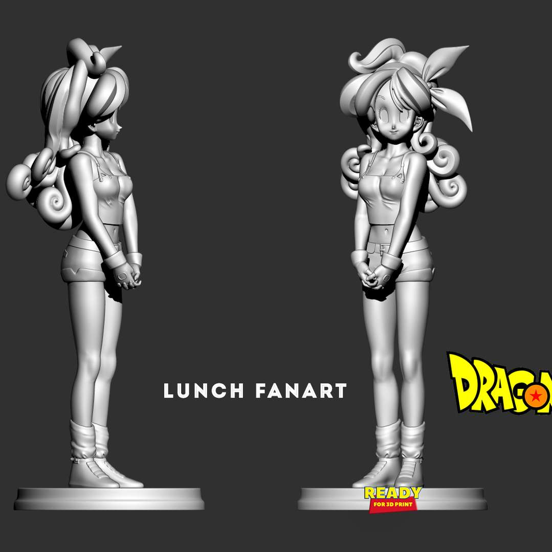 Launch Dragon Ball  - When you purchase this product, you will own:  - OBJ, STL files are ready for 3D printing.  - Zbrush original files (ZTL) for you to customize as you like.  21th May, 2020: This is version 1.0 of this model.  20th August, 2021: version 1.1 - Fixed bugs in the previous version. Merge neatly to get ready for 3D printing.  Hope you guys like her :)  Thanks so much for viewing my model! - The best files for 3D printing in the world. Stl models divided into parts to facilitate 3D printing. All kinds of characters, decoration, cosplay, prosthetics, pieces. Quality in 3D printing. Affordable 3D models. Low cost. Collective purchases of 3D files.