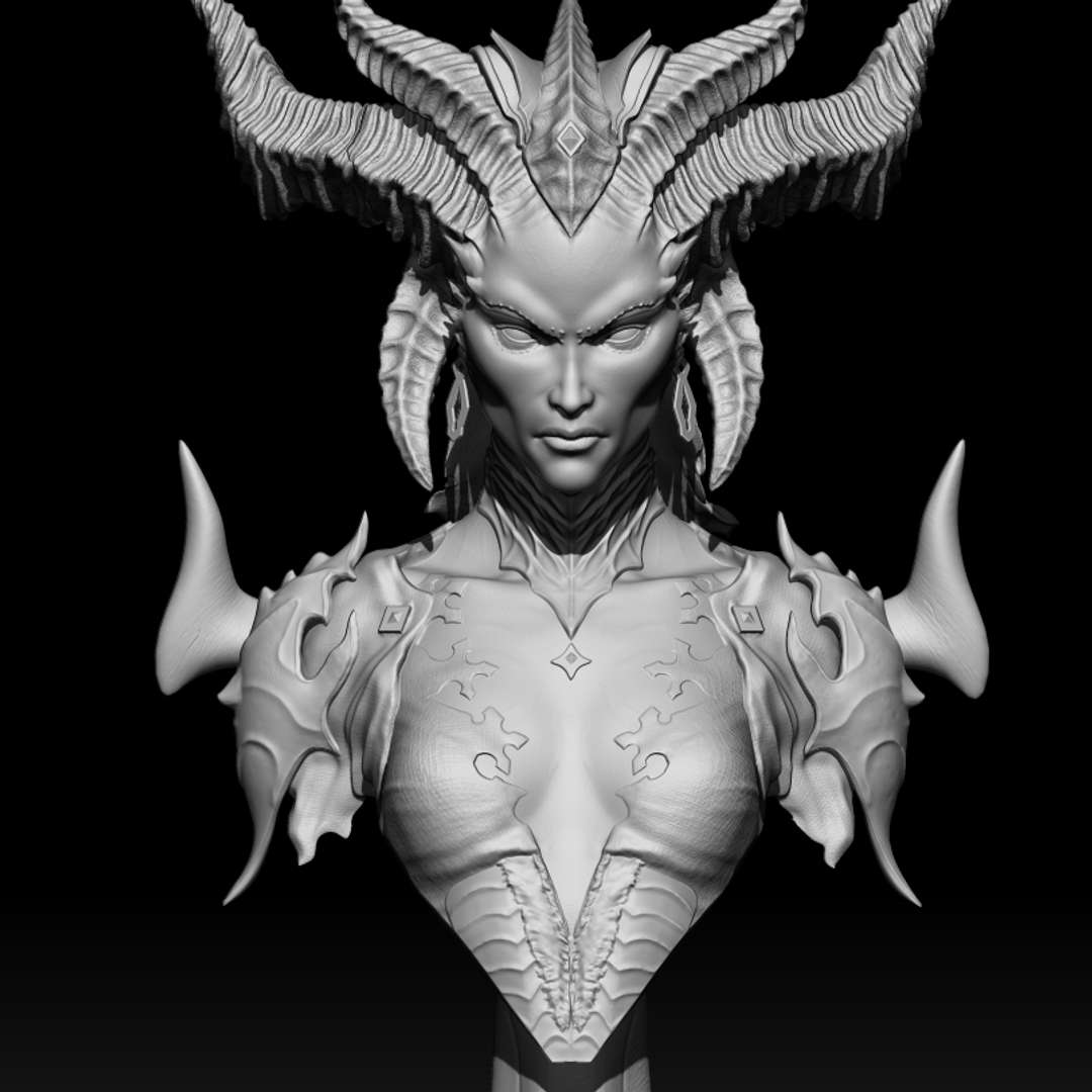 Lilith do jogo Diablo4 - Hello model for 3d printing Lilith Diablo4 with 15cm/30cm - Os melhores arquivos para impressão 3D do mundo. Modelos stl divididos em partes para facilitar a impressão 3D. Todos os tipos de personagens, decoração, cosplay, próteses, peças. Qualidade na impressão 3D. Modelos 3D com preço acessível. Baixo custo. Compras coletivas de arquivos 3D.