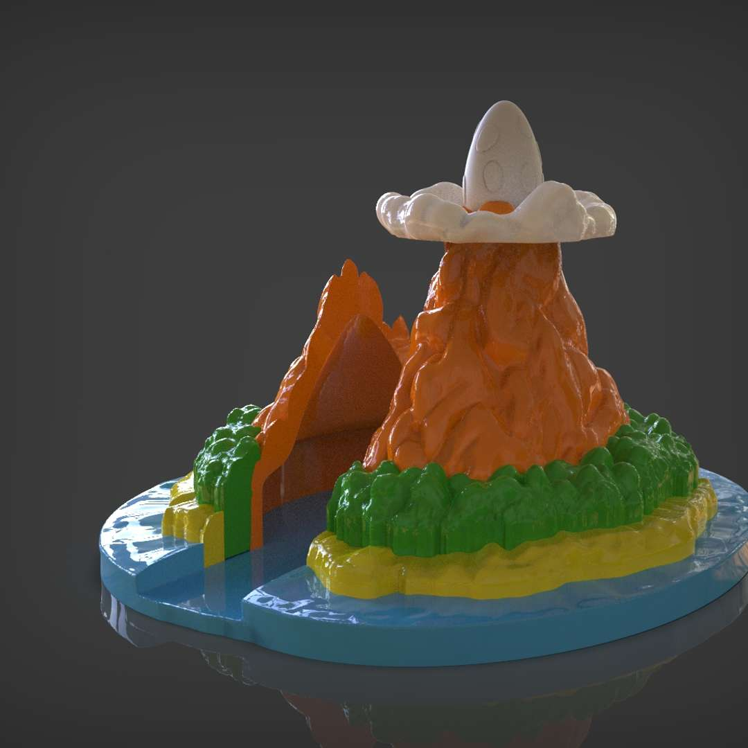Links Awakening - Koholint Island - Koholint Island the island featured in the game The Legend of Zelda Links Awakening from Nintendo switch or game boy I set up for 3d print and you can put your Nintendo switch inside and separate each part for easy 3d print and choose the colors you want I included the OBJ and STL if you need 3D Game Assets or STL files I can do commission works.   - Los mejores archivos para impresión 3D del mundo. Modelos Stl divididos en partes para facilitar la impresión 3D. Todo tipo de personajes, decoración, cosplay, prótesis, piezas. Calidad en impresión 3D. Modelos 3D asequibles. Bajo costo. Compras colectivas de archivos 3D.