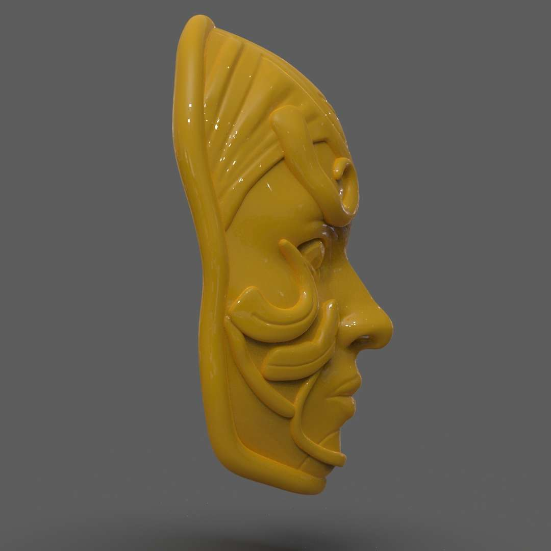 Lyssa's Mask from Guild Wars 2 - A Mask of the character from Guild Wars 2 Lyssa's ready for 3D Print as a mask for cosplay or Decoration I included the STL, OBJ if you need 3D Game Assets or STL files I can do commission works.   - The best files for 3D printing in the world. Stl models divided into parts to facilitate 3D printing. All kinds of characters, decoration, cosplay, prosthetics, pieces. Quality in 3D printing. Affordable 3D models. Low cost. Collective purchases of 3D files.