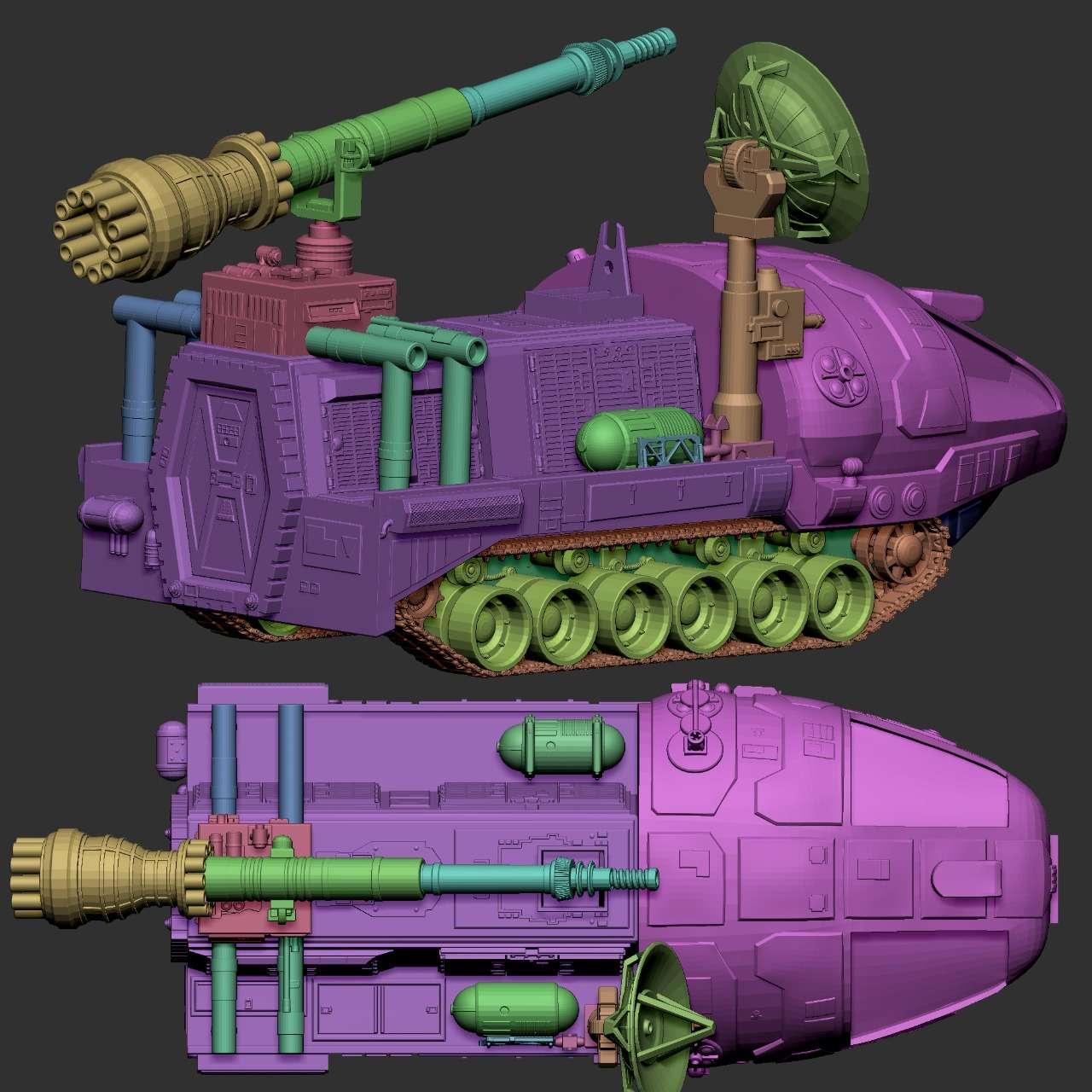 Space 1999 Alpha Laser Tank - Space 1999 Alpha Laser Tank - Os melhores arquivos para impressão 3D do mundo. Modelos stl divididos em partes para facilitar a impressão 3D. Todos os tipos de personagens, decoração, cosplay, próteses, peças. Qualidade na impressão 3D. Modelos 3D com preço acessível. Baixo custo. Compras coletivas de arquivos 3D.