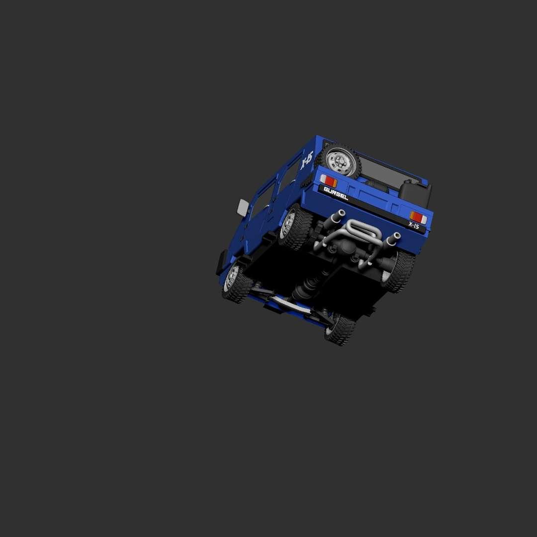 Moa X-15 - Model finish Update  - Os melhores arquivos para impressão 3D do mundo. Modelos stl divididos em partes para facilitar a impressão 3D. Todos os tipos de personagens, decoração, cosplay, próteses, peças. Qualidade na impressão 3D. Modelos 3D com preço acessível. Baixo custo. Compras coletivas de arquivos 3D.