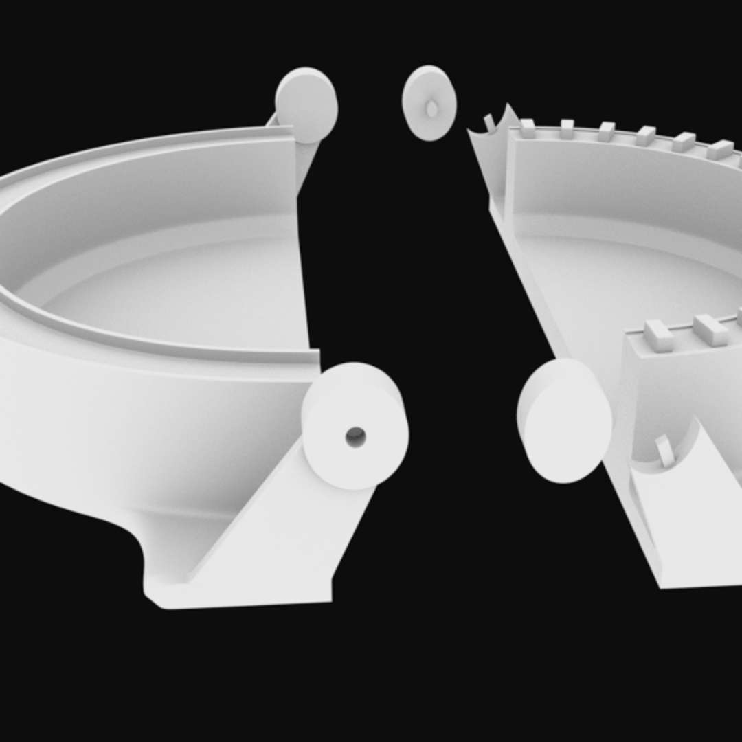 Mold for snacks whit socket stl for 3D printing - Mold for snacks whit socket  3 models for 3D printing - The best files for 3D printing in the world. Stl models divided into parts to facilitate 3D printing. All kinds of characters, decoration, cosplay, prosthetics, pieces. Quality in 3D printing. Affordable 3D models. Low cost. Collective purchases of 3D files.