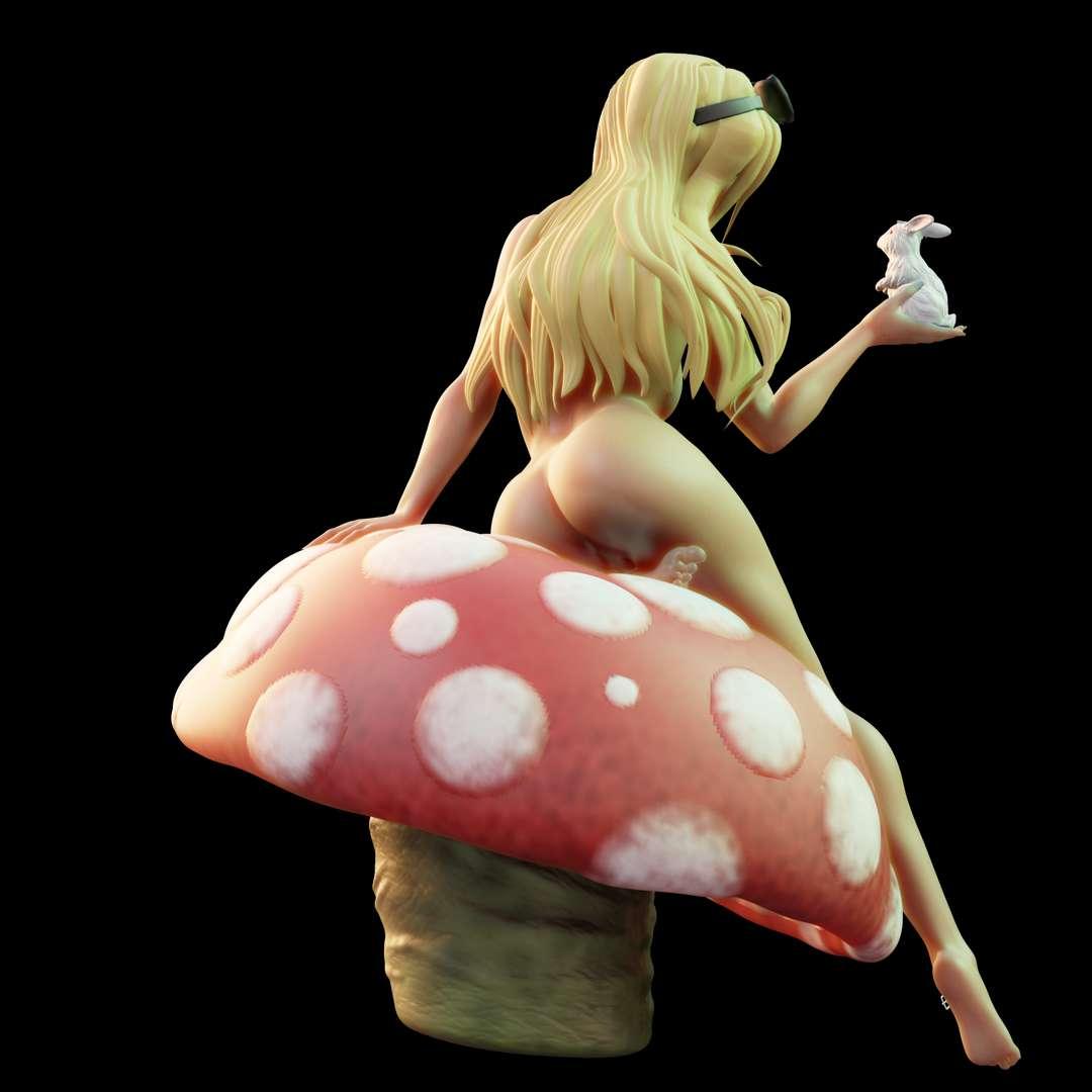Naked Alice with Rabbit - Naked Alice with Rabbit. STL ready for printing Alice in Wonderland with Rabbit in Hand. - Os melhores arquivos para impressão 3D do mundo. Modelos stl divididos em partes para facilitar a impressão 3D. Todos os tipos de personagens, decoração, cosplay, próteses, peças. Qualidade na impressão 3D. Modelos 3D com preço acessível. Baixo custo. Compras coletivas de arquivos 3D.