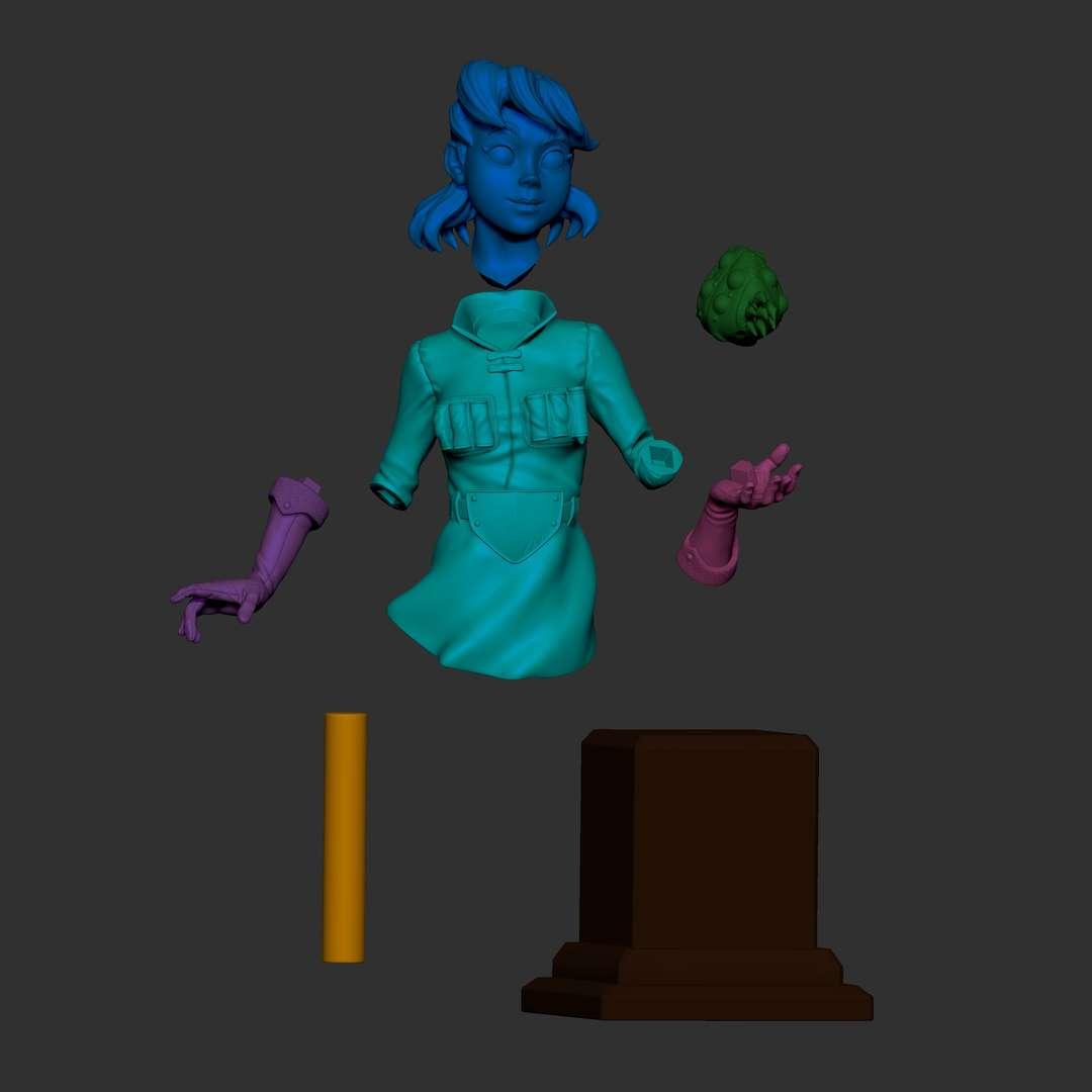 Nalsicaa - Nausicaa by concept art Diego Munhoz - Los mejores archivos para impresión 3D del mundo. Modelos Stl divididos en partes para facilitar la impresión 3D. Todo tipo de personajes, decoración, cosplay, prótesis, piezas. Calidad en impresión 3D. Modelos 3D asequibles. Bajo costo. Compras colectivas de archivos 3D.