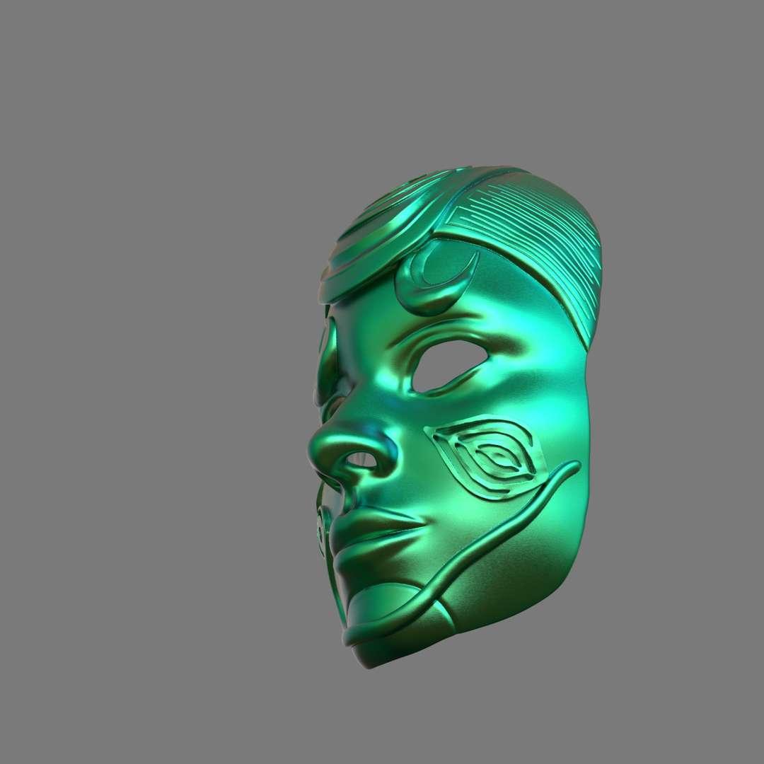 Natural Mask 3D Print - A Mask inspired by Natural theme ready for 3d print as a cosplayer or a decoration function I included the OBJ and STL files if you need 3D Game assets or STL files I can do commission works.   - Los mejores archivos para impresión 3D del mundo. Modelos Stl divididos en partes para facilitar la impresión 3D. Todo tipo de personajes, decoración, cosplay, prótesis, piezas. Calidad en impresión 3D. Modelos 3D asequibles. Bajo costo. Compras colectivas de archivos 3D.