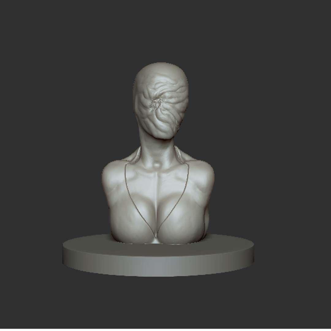 Nurse - Nurse from Silent Hill. Fan Art. Modelo possui 100mm->10cm - Os melhores arquivos para impressão 3D do mundo. Modelos stl divididos em partes para facilitar a impressão 3D. Todos os tipos de personagens, decoração, cosplay, próteses, peças. Qualidade na impressão 3D. Modelos 3D com preço acessível. Baixo custo. Compras coletivas de arquivos 3D.