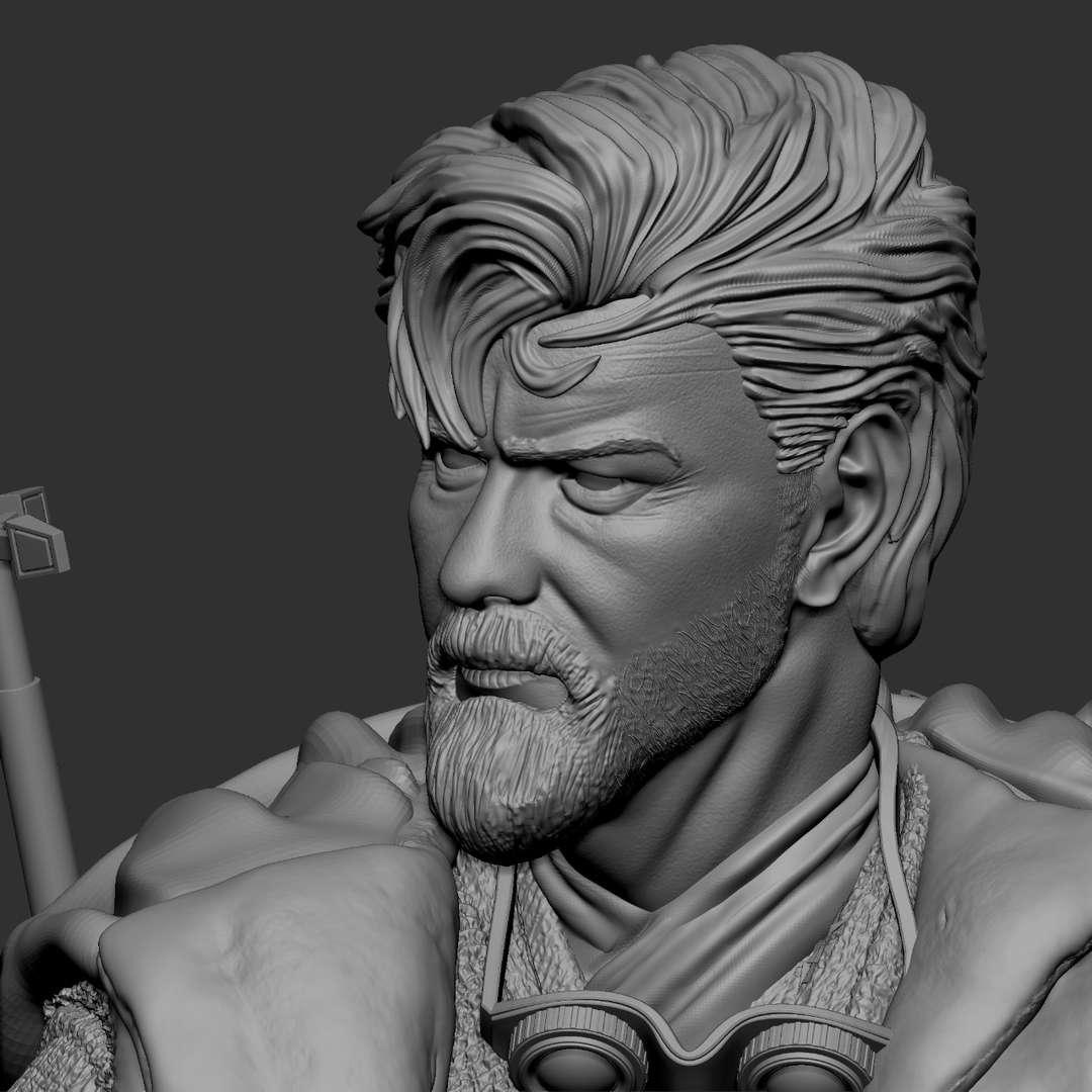 Obi-Wan  - Obi-Wan after the Clone Wars, he takes his belongings and goes to Tatooine. More images are available for the modeller. Important: finish project - Los mejores archivos para impresión 3D del mundo. Modelos Stl divididos en partes para facilitar la impresión 3D. Todo tipo de personajes, decoración, cosplay, prótesis, piezas. Calidad en impresión 3D. Modelos 3D asequibles. Bajo costo. Compras colectivas de archivos 3D.