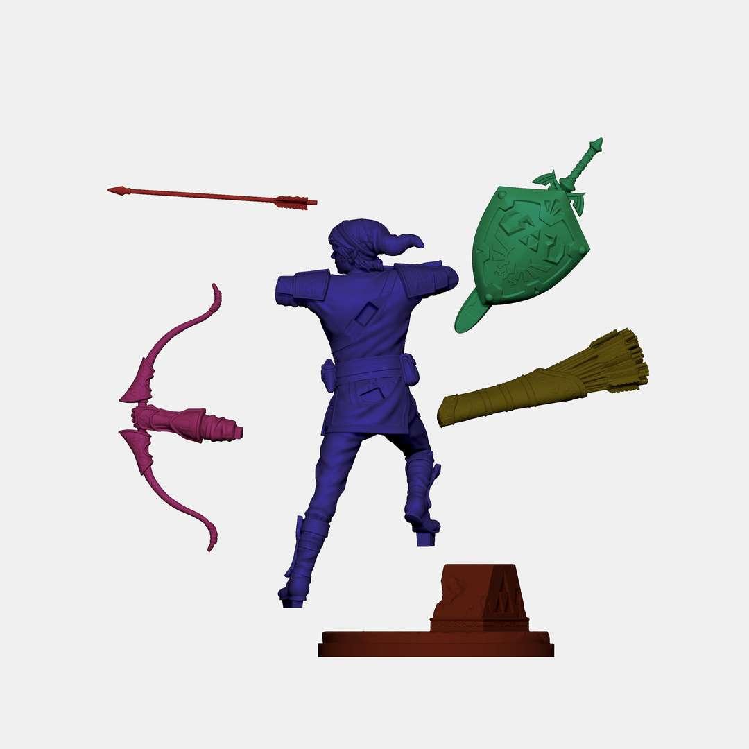 Old Link of Zelda 75mm e 120mm - Fan arte da série Zelda 75mm e 120mm - Los mejores archivos para impresión 3D del mundo. Modelos Stl divididos en partes para facilitar la impresión 3D. Todo tipo de personajes, decoración, cosplay, prótesis, piezas. Calidad en impresión 3D. Modelos 3D asequibles. Bajo costo. Compras colectivas de archivos 3D.