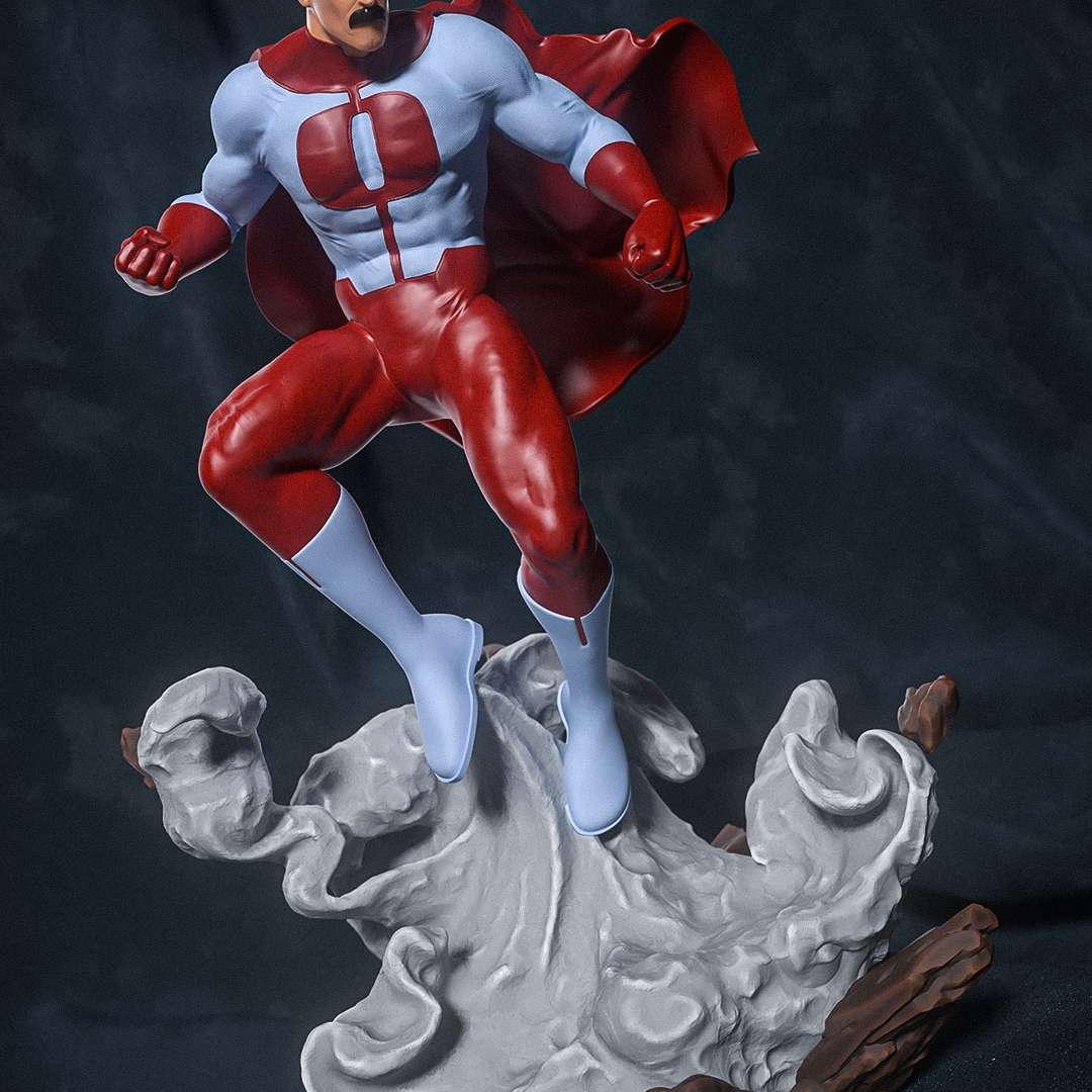 Omni-man - Omni-man fanart from Invincible comic series, cut and keyed for easy printing and assembling. - The best files for 3D printing in the world. Stl models divided into parts to facilitate 3D printing. All kinds of characters, decoration, cosplay, prosthetics, pieces. Quality in 3D printing. Affordable 3D models. Low cost. Collective purchases of 3D files.