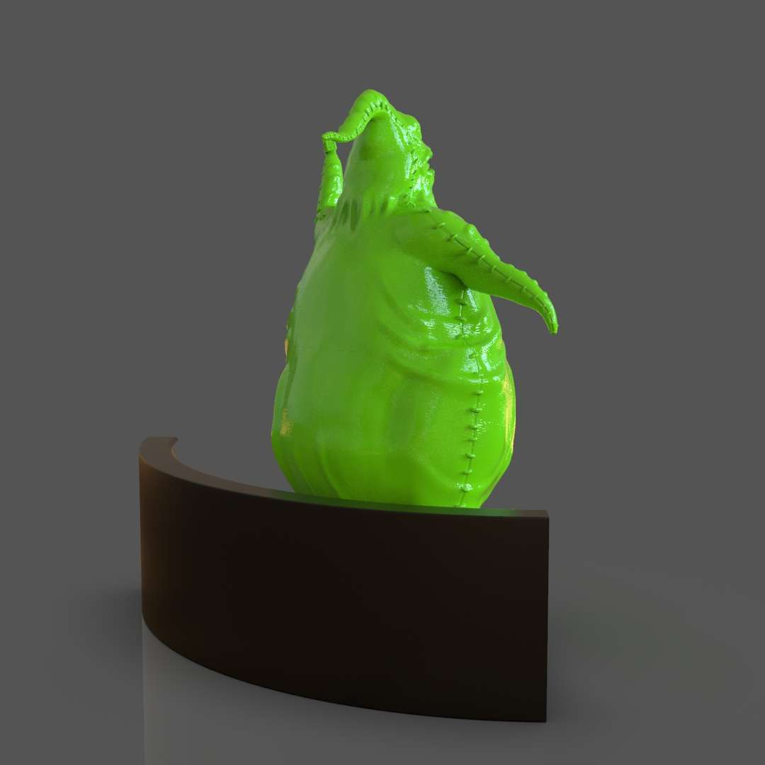 Oogie Boogie Sculpture - Oogie Boogie Sculpture from the Movie The Nightmare Before Christmas ready for 3D Print I set up the model in 3 parts for easy 3D print I included the OBJ and STL if you need 3D Game Assets or STL files I can do commission works. - The best files for 3D printing in the world. Stl models divided into parts to facilitate 3D printing. All kinds of characters, decoration, cosplay, prosthetics, pieces. Quality in 3D printing. Affordable 3D models. Low cost. Collective purchases of 3D files.