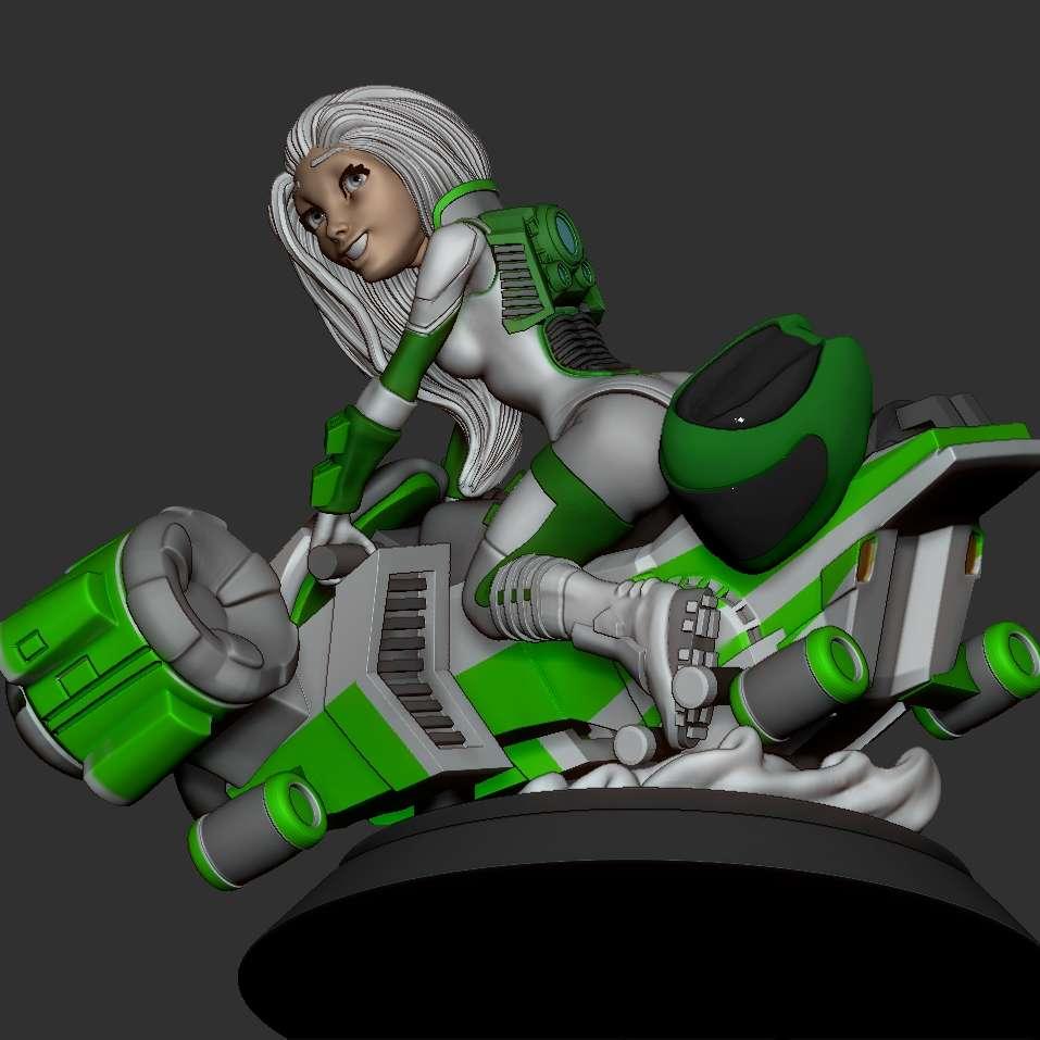 Speeder Biker - Greetings! I'm submitting the template as per the modification requests. - Los mejores archivos para impresión 3D del mundo. Modelos Stl divididos en partes para facilitar la impresión 3D. Todo tipo de personajes, decoración, cosplay, prótesis, piezas. Calidad en impresión 3D. Modelos 3D asequibles. Bajo costo. Compras colectivas de archivos 3D.