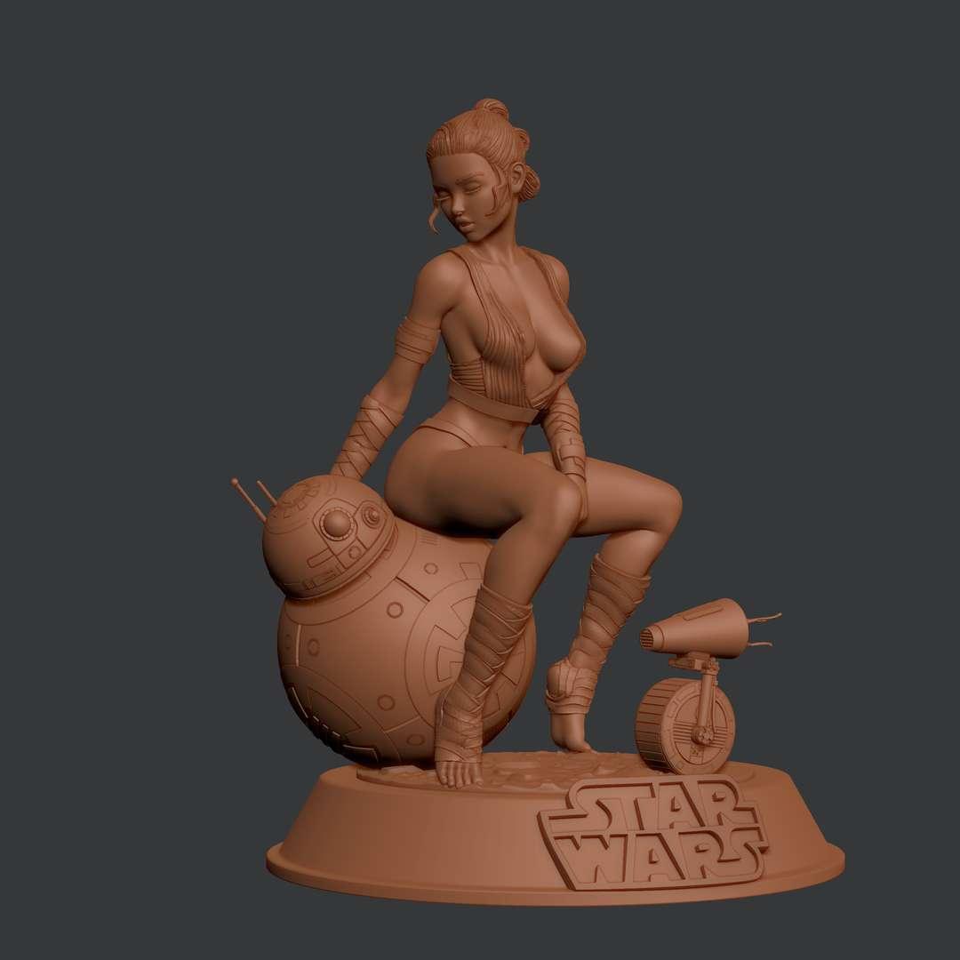 Rey Star Wars - Model fan Art Rey Star Wars version By Jeremy Worst - Os melhores arquivos para impressão 3D do mundo. Modelos stl divididos em partes para facilitar a impressão 3D. Todos os tipos de personagens, decoração, cosplay, próteses, peças. Qualidade na impressão 3D. Modelos 3D com preço acessível. Baixo custo. Compras coletivas de arquivos 3D.