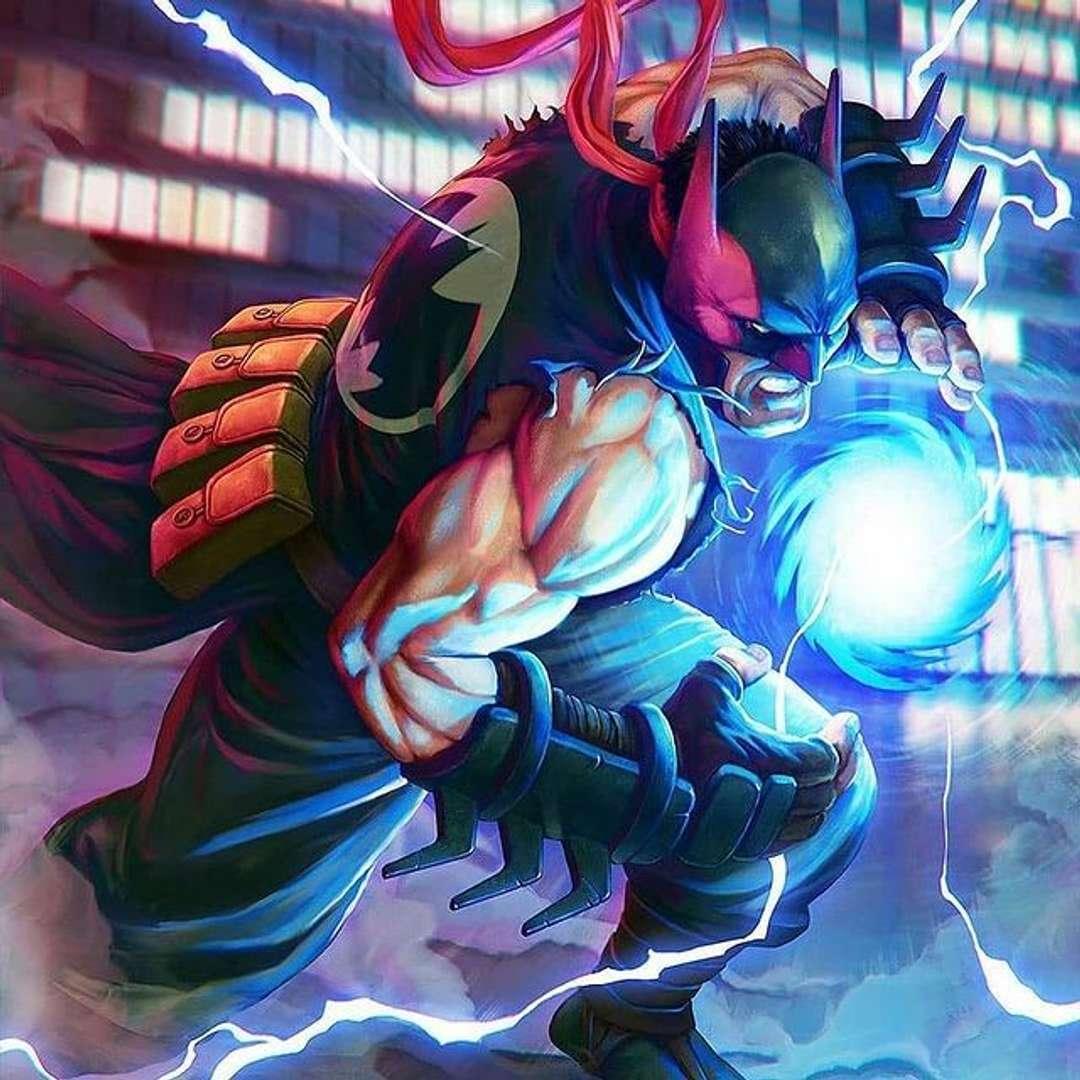 Ryu batman - Ryu como batman - Los mejores archivos para impresión 3D del mundo. Modelos Stl divididos en partes para facilitar la impresión 3D. Todo tipo de personajes, decoración, cosplay, prótesis, piezas. Calidad en impresión 3D. Modelos 3D asequibles. Bajo costo. Compras colectivas de archivos 3D.