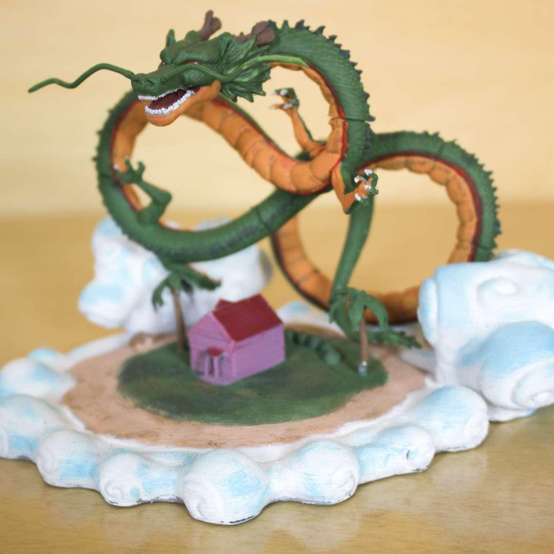 Shenlong - Modelo Shenlong do anime dragonball  Tamanho aproximado: 22 cm x 14 cm - Os melhores arquivos para impressão 3D do mundo. Modelos stl divididos em partes para facilitar a impressão 3D. Todos os tipos de personagens, decoração, cosplay, próteses, peças. Qualidade na impressão 3D. Modelos 3D com preço acessível. Baixo custo. Compras coletivas de arquivos 3D.