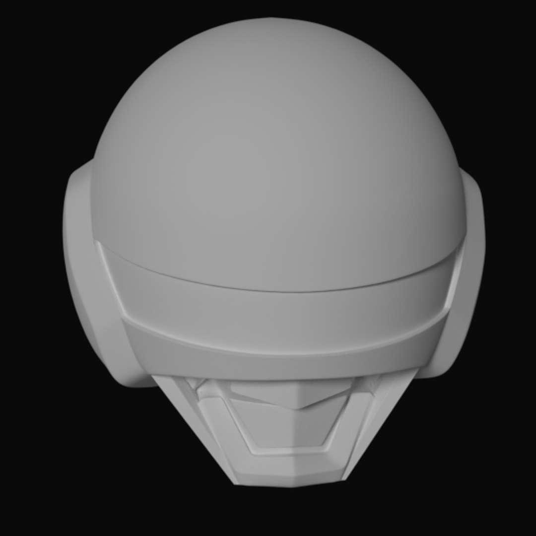 Simple Jaspion Helmet STL 3D printing -  Simple Jaspion Helmet STL 3D printing  - Os melhores arquivos para impressão 3D do mundo. Modelos stl divididos em partes para facilitar a impressão 3D. Todos os tipos de personagens, decoração, cosplay, próteses, peças. Qualidade na impressão 3D. Modelos 3D com preço acessível. Baixo custo. Compras coletivas de arquivos 3D.