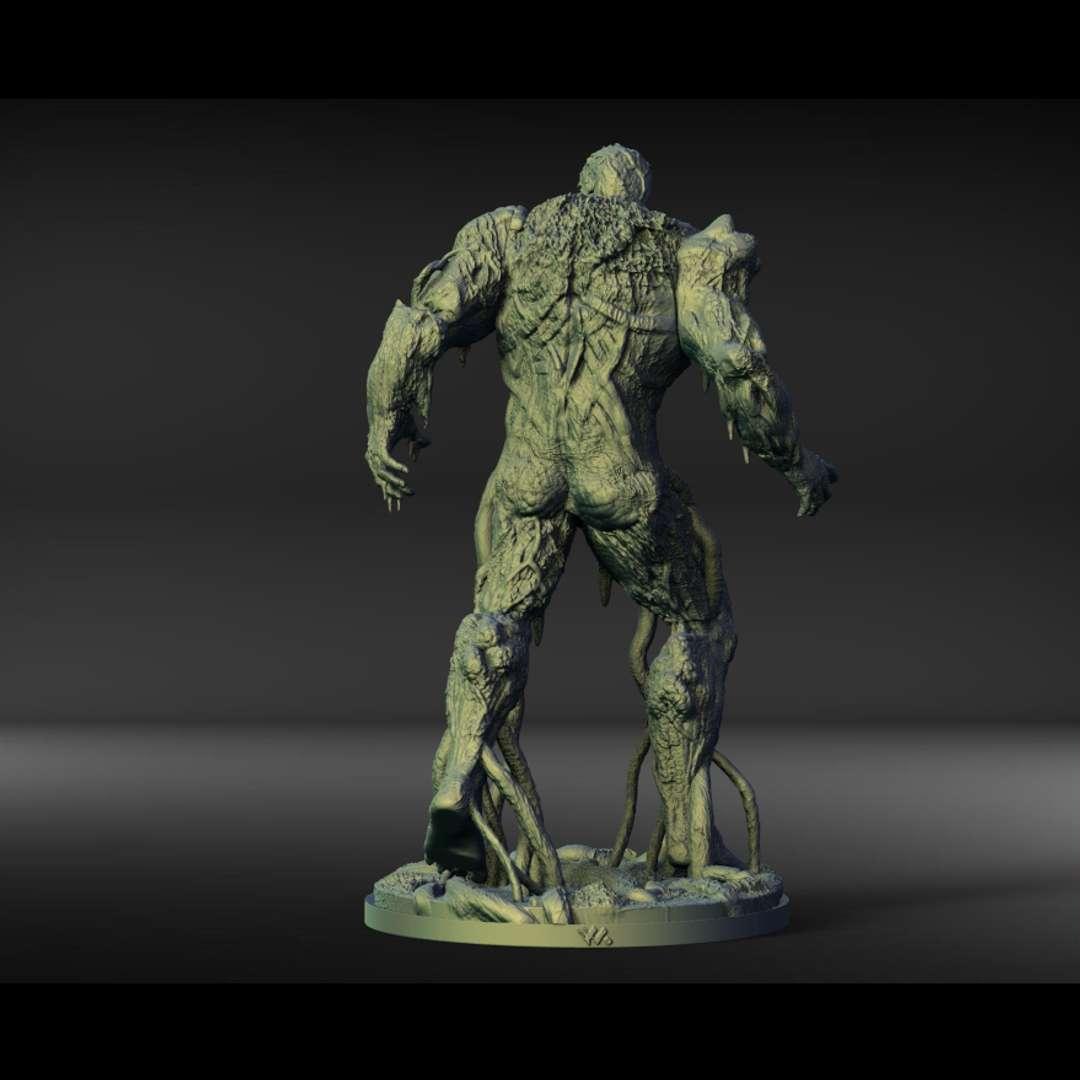 Swampthing - Amamzing character Swampthing! sliced, keyed and tested; - Los mejores archivos para impresión 3D del mundo. Modelos Stl divididos en partes para facilitar la impresión 3D. Todo tipo de personajes, decoración, cosplay, prótesis, piezas. Calidad en impresión 3D. Modelos 3D asequibles. Bajo costo. Compras colectivas de archivos 3D.