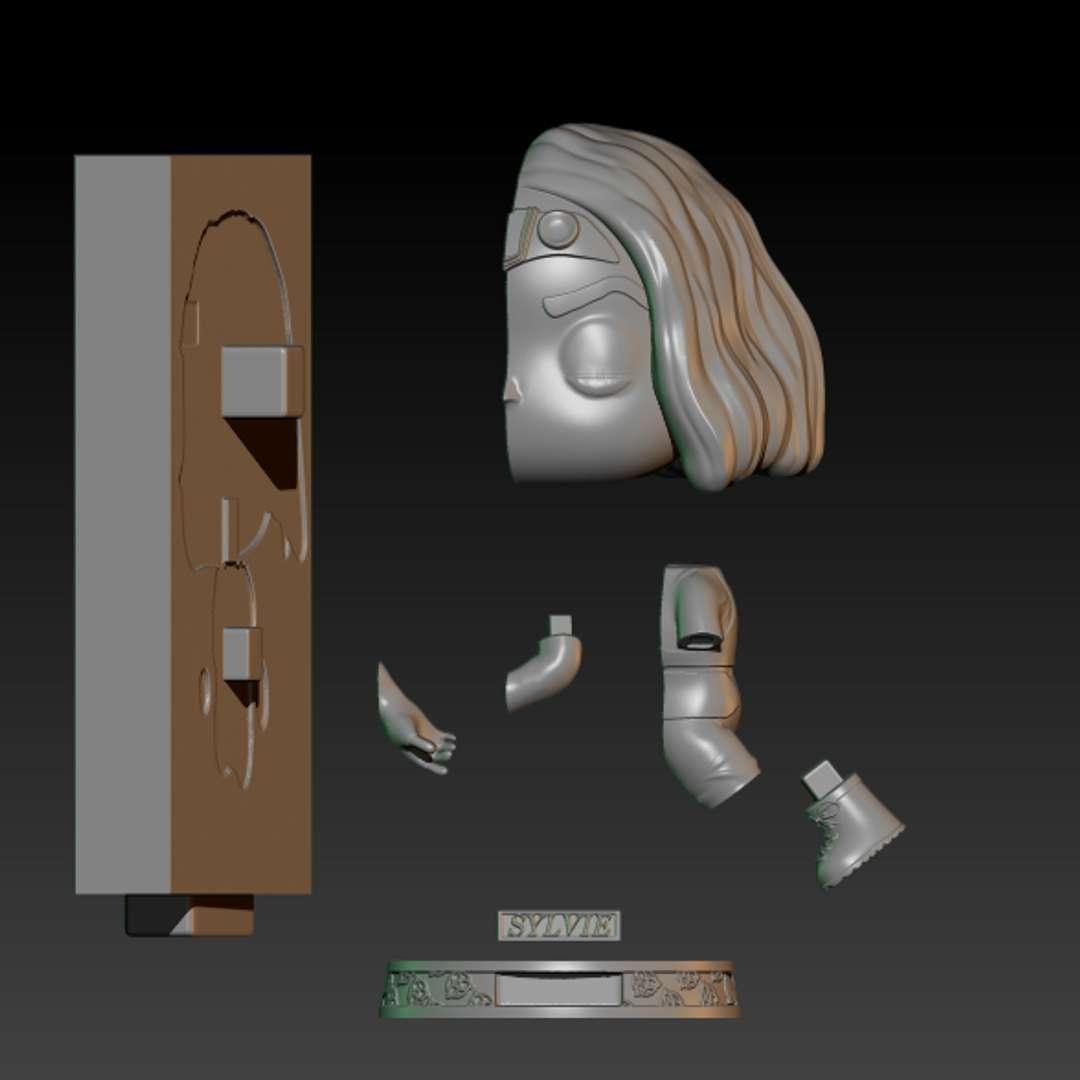 sylvie passing through portal - sylvie passing through portal - Los mejores archivos para impresión 3D del mundo. Modelos Stl divididos en partes para facilitar la impresión 3D. Todo tipo de personajes, decoración, cosplay, prótesis, piezas. Calidad en impresión 3D. Modelos 3D asequibles. Bajo costo. Compras colectivas de archivos 3D.