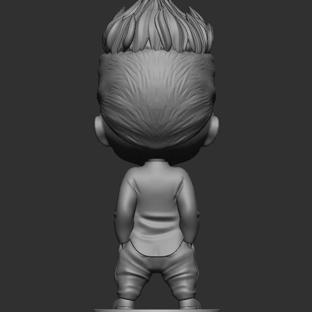 Takemichi Hanagaki - This STL is for personal use only. Please do not copy or redistribute it.  TAKEMICHI HANAGAKI nendoroid style fanart from Tokyo Revengers  1 STL Merged 1 OBJ (Merged Model) Separated parts (Head, Body, Base, format OBJ)  Please feel free to share images of your prints on this page, I would love to see it. - Os melhores arquivos para impressão 3D do mundo. Modelos stl divididos em partes para facilitar a impressão 3D. Todos os tipos de personagens, decoração, cosplay, próteses, peças. Qualidade na impressão 3D. Modelos 3D com preço acessível. Baixo custo. Compras coletivas de arquivos 3D.