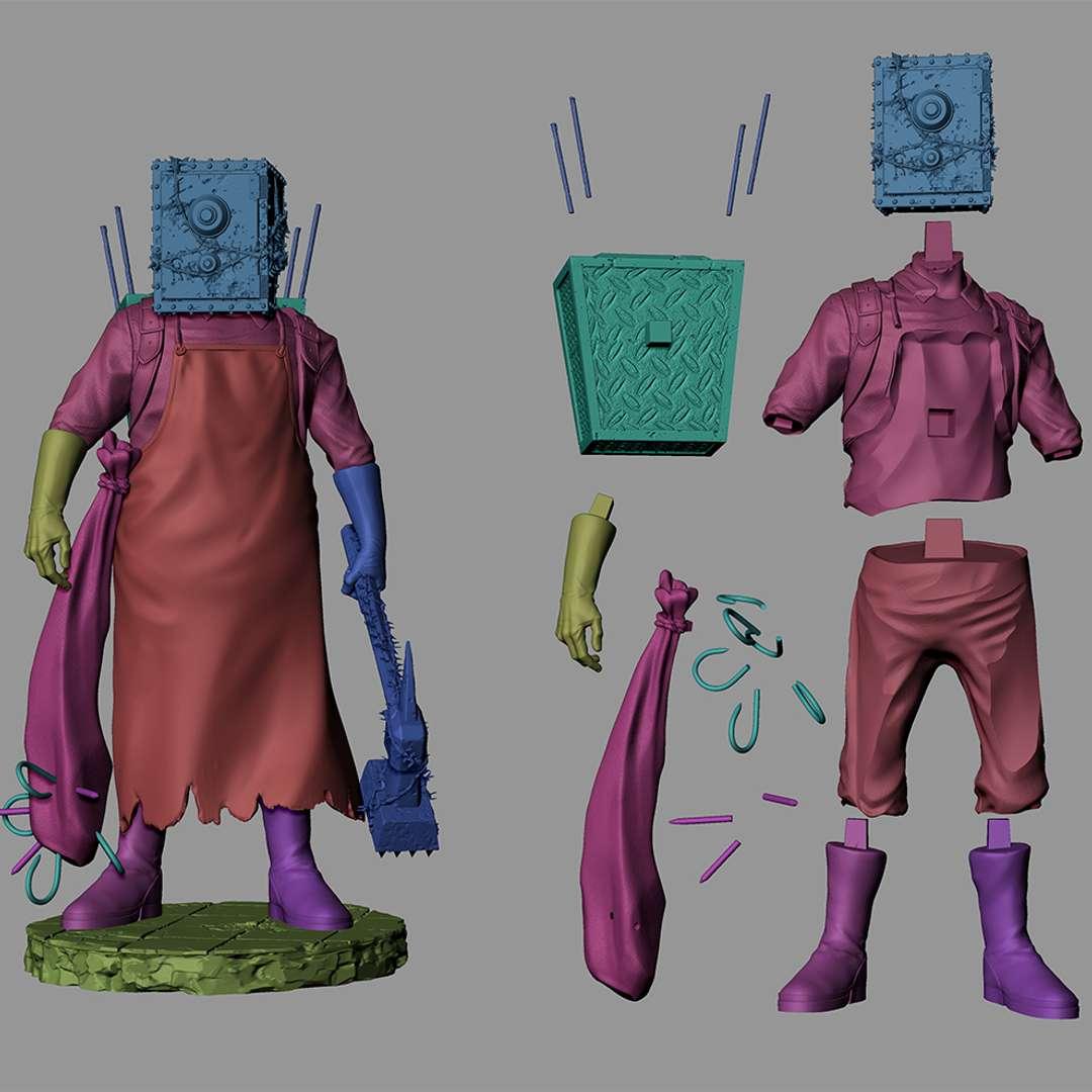 The Kepper - This character is a boss of the game The evil within, one of the monsters with the most amazing design. Hope you like it !! - Os melhores arquivos para impressão 3D do mundo. Modelos stl divididos em partes para facilitar a impressão 3D. Todos os tipos de personagens, decoração, cosplay, próteses, peças. Qualidade na impressão 3D. Modelos 3D com preço acessível. Baixo custo. Compras coletivas de arquivos 3D.