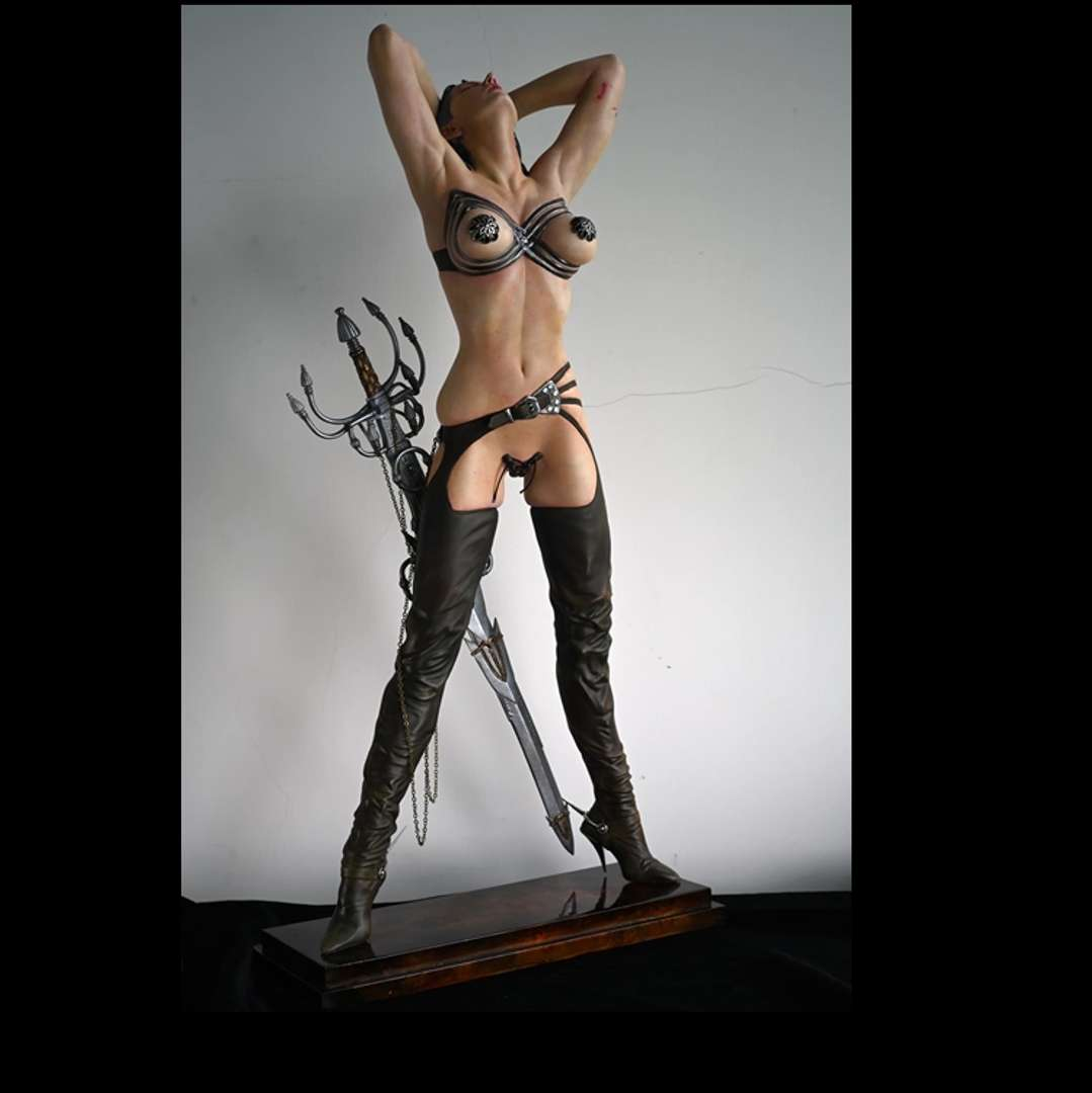 Warrior Girl - I'm looking for a modeler to make this model - Os melhores arquivos para impressão 3D do mundo. Modelos stl divididos em partes para facilitar a impressão 3D. Todos os tipos de personagens, decoração, cosplay, próteses, peças. Qualidade na impressão 3D. Modelos 3D com preço acessível. Baixo custo. Compras coletivas de arquivos 3D.