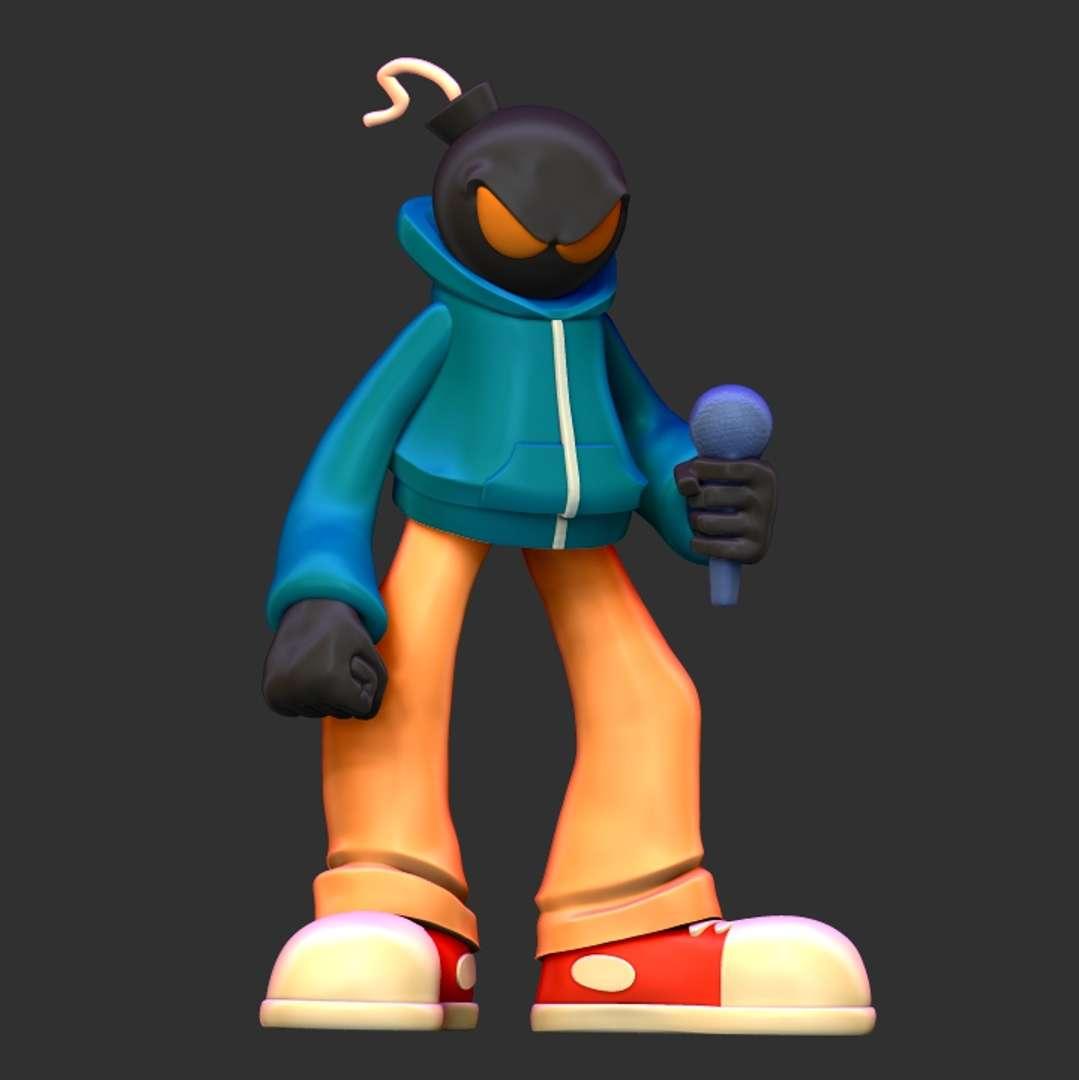 Whitty - FNF - Personagem 'Whitty' do jogo FNF (Friday Night Funkin') 'Whitty' character from the FNF (Friday Night Funkin') game  https://www.artstation.com/artwork/zOrRV4 - Los mejores archivos para impresión 3D del mundo. Modelos Stl divididos en partes para facilitar la impresión 3D. Todo tipo de personajes, decoración, cosplay, prótesis, piezas. Calidad en impresión 3D. Modelos 3D asequibles. Bajo costo. Compras colectivas de archivos 3D.