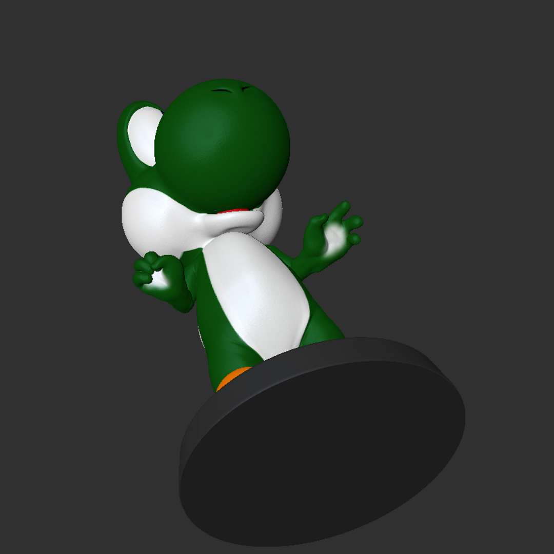 Yoshi Fanart - Yoshi Mario Word for 3d printing on Resin  Own only 2 pieces without pins. Final print size 7 cm in length. File without textures. Preview for ease of hand painting only.  Files to facilitate for STL and OBJ user. - The best files for 3D printing in the world. Stl models divided into parts to facilitate 3D printing. All kinds of characters, decoration, cosplay, prosthetics, pieces. Quality in 3D printing. Affordable 3D models. Low cost. Collective purchases of 3D files.