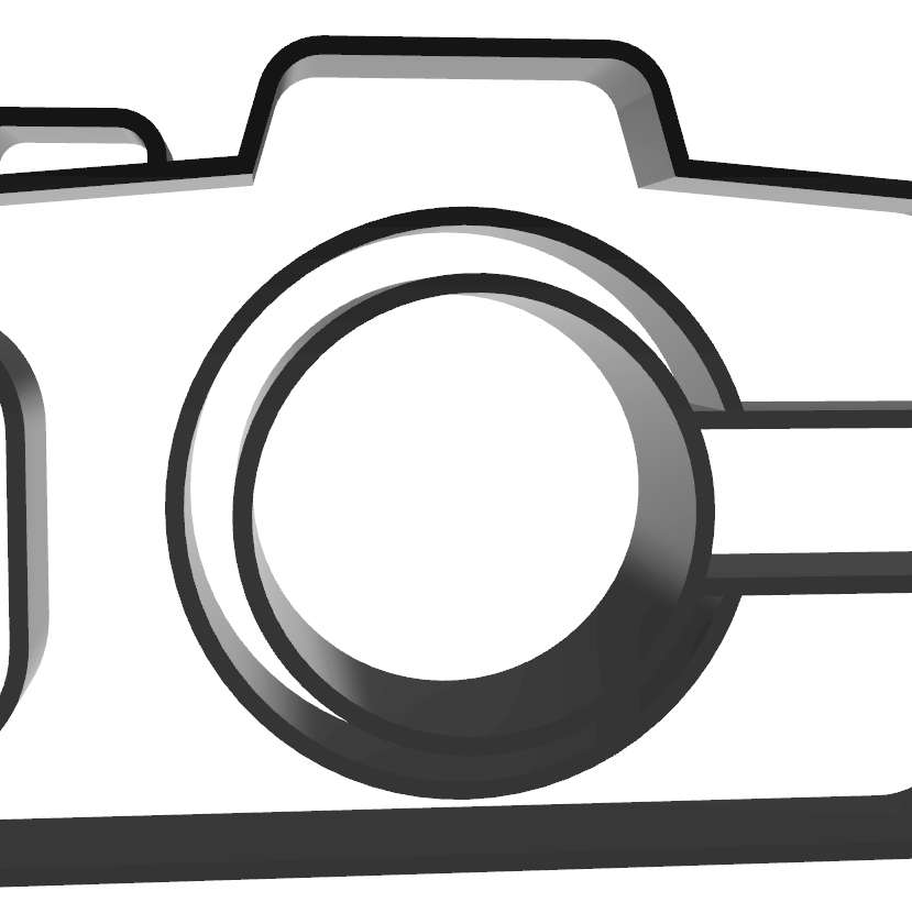 Câmera Fotográfica -  model printed all in the plane without support - Los mejores archivos para impresión 3D del mundo. Modelos Stl divididos en partes para facilitar la impresión 3D. Todo tipo de personajes, decoración, cosplay, prótesis, piezas. Calidad en impresión 3D. Modelos 3D asequibles. Bajo costo. Compras colectivas de archivos 3D.