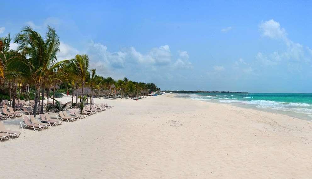 Playa Maroma en ruta por la Riviera Maya
