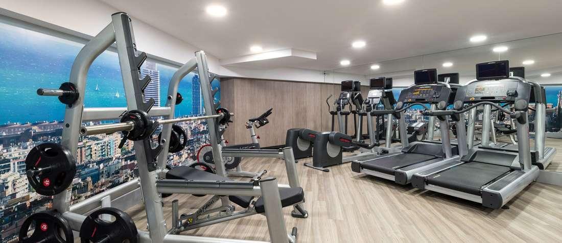 Fitnessraum modern  Hotel Catalonia Sagrada Familia - Catalonia Hotels & Resorts