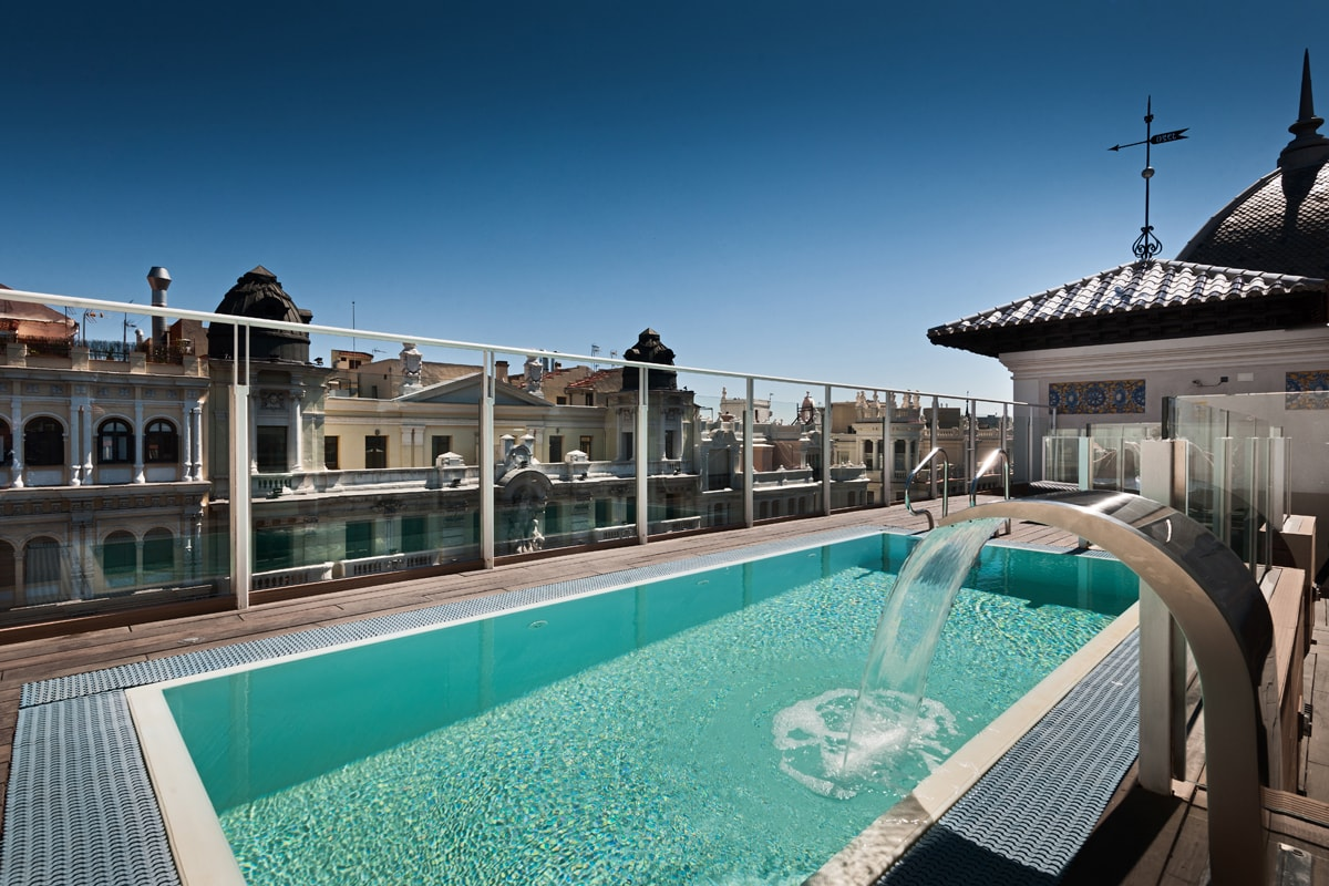 Hotel catalonia gran v a web oficial catalonia hotels - Hotels in madrid spain with swimming pool ...
