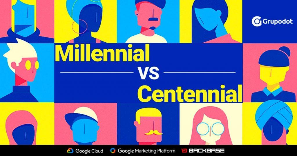 millenial vs centennial